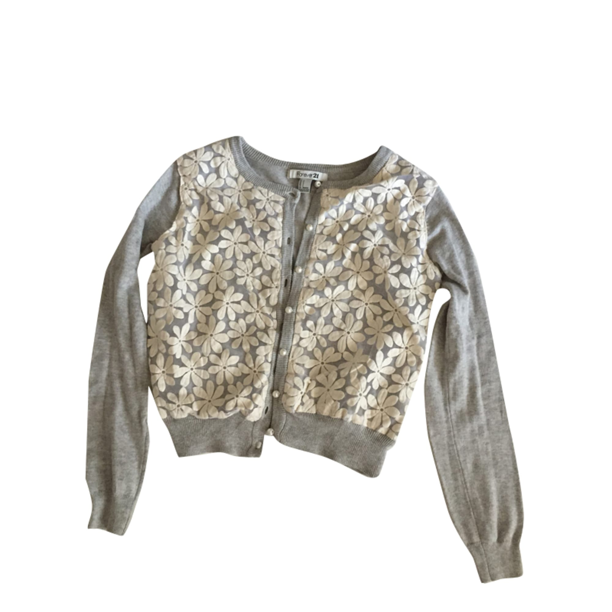 Gilet, cardigan FOREVER 21 Gris, anthracite