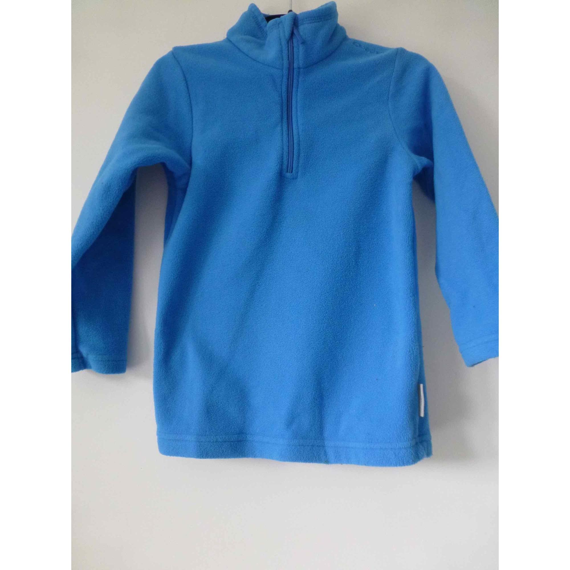 Polaire QUECHUA Bleu, bleu marine, bleu turquoise