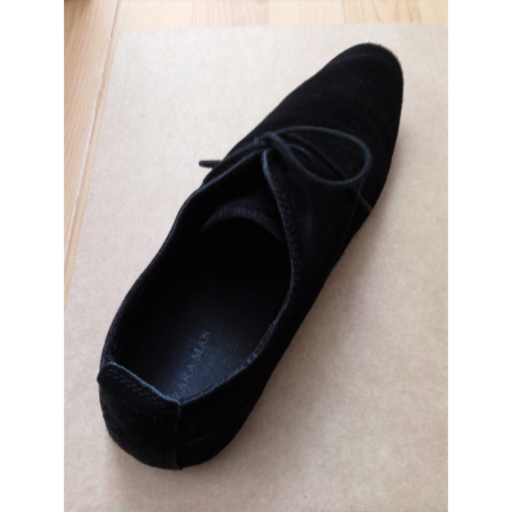 Chaussures à lacets ZARA Noir