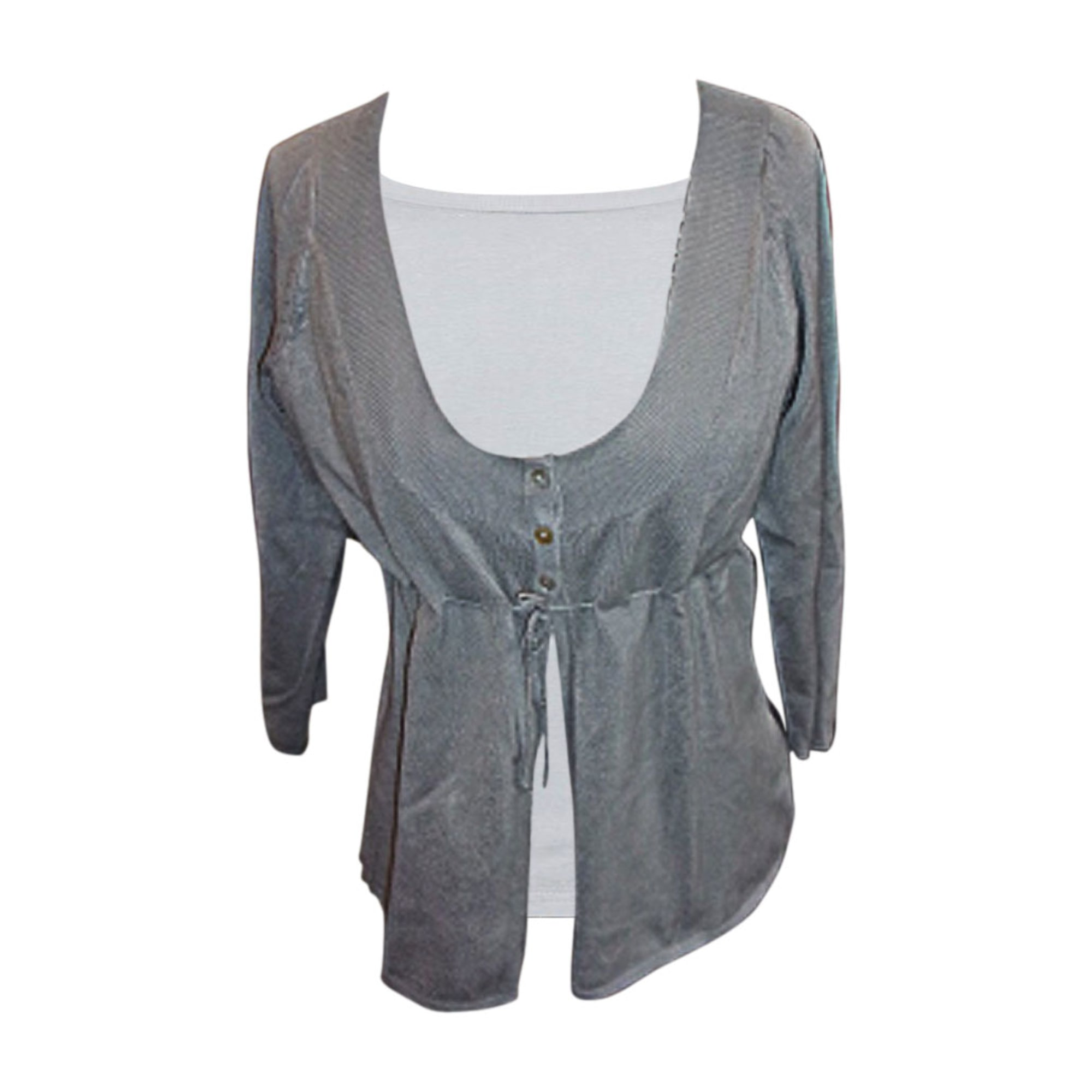 Gilet, cardigan BEST MOUNTAIN Gris, anthracite