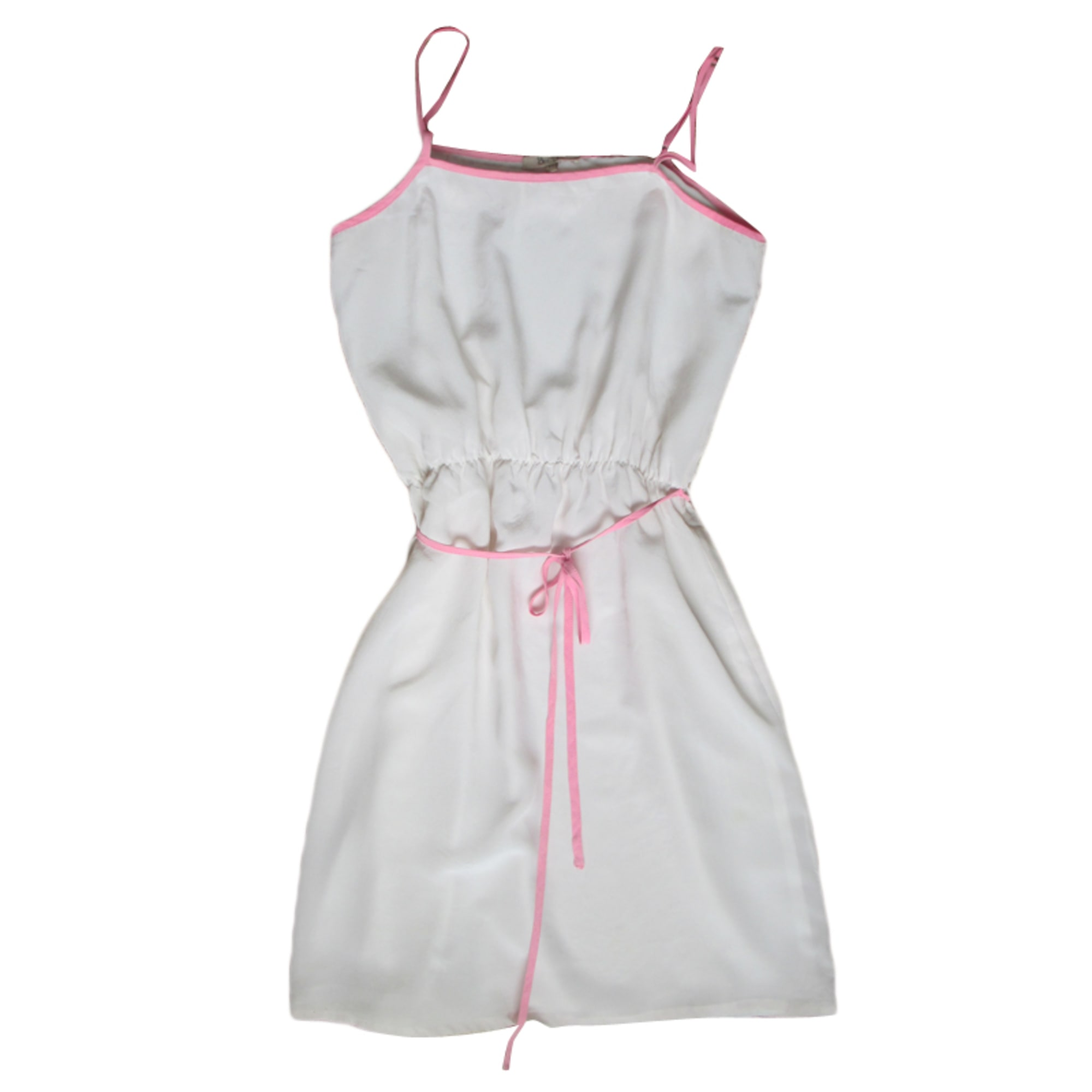 Robe courte BEL AIR Blanc, blanc cassé, écru