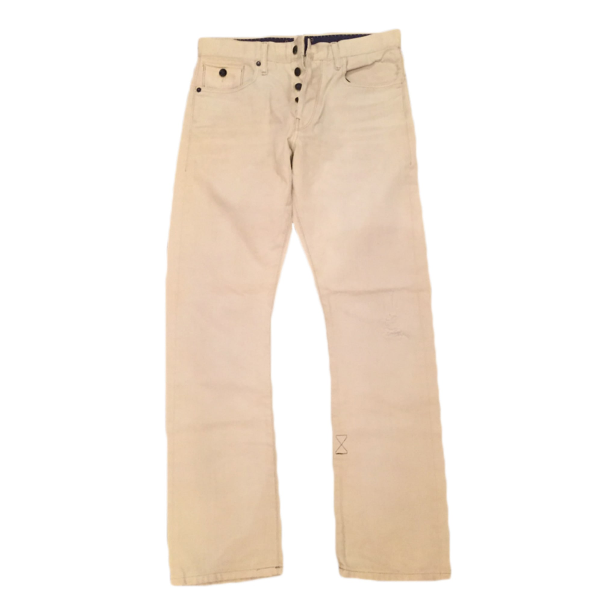 Jeans droit G-STAR Beige, camel