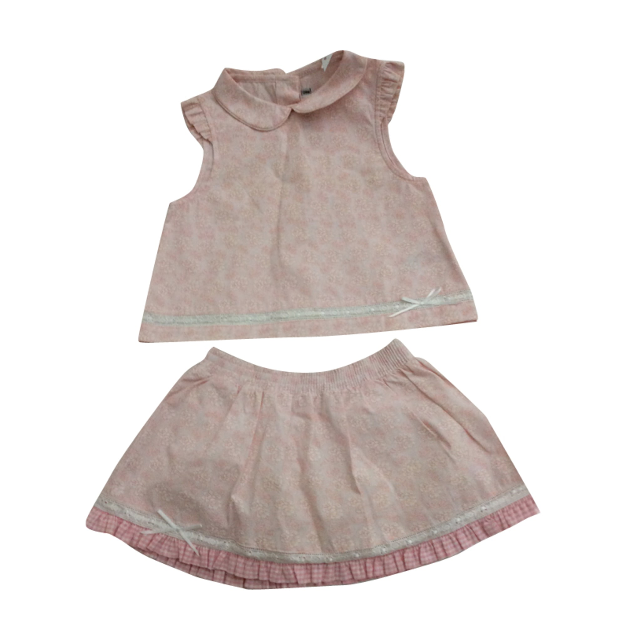 Dress BABY DIOR Pink, fuchsia, light pink