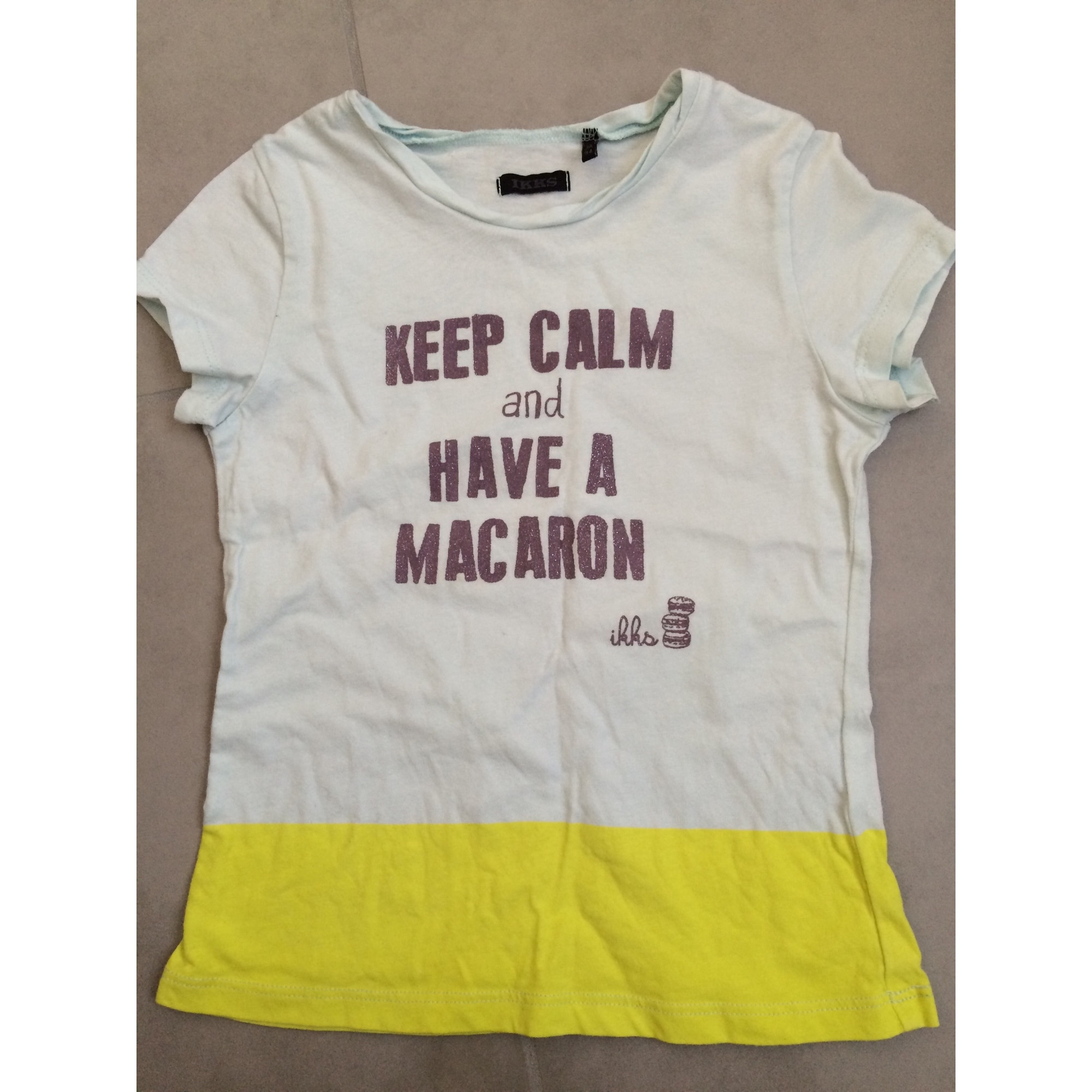 Top, Tee-shirt IKKS Vert
