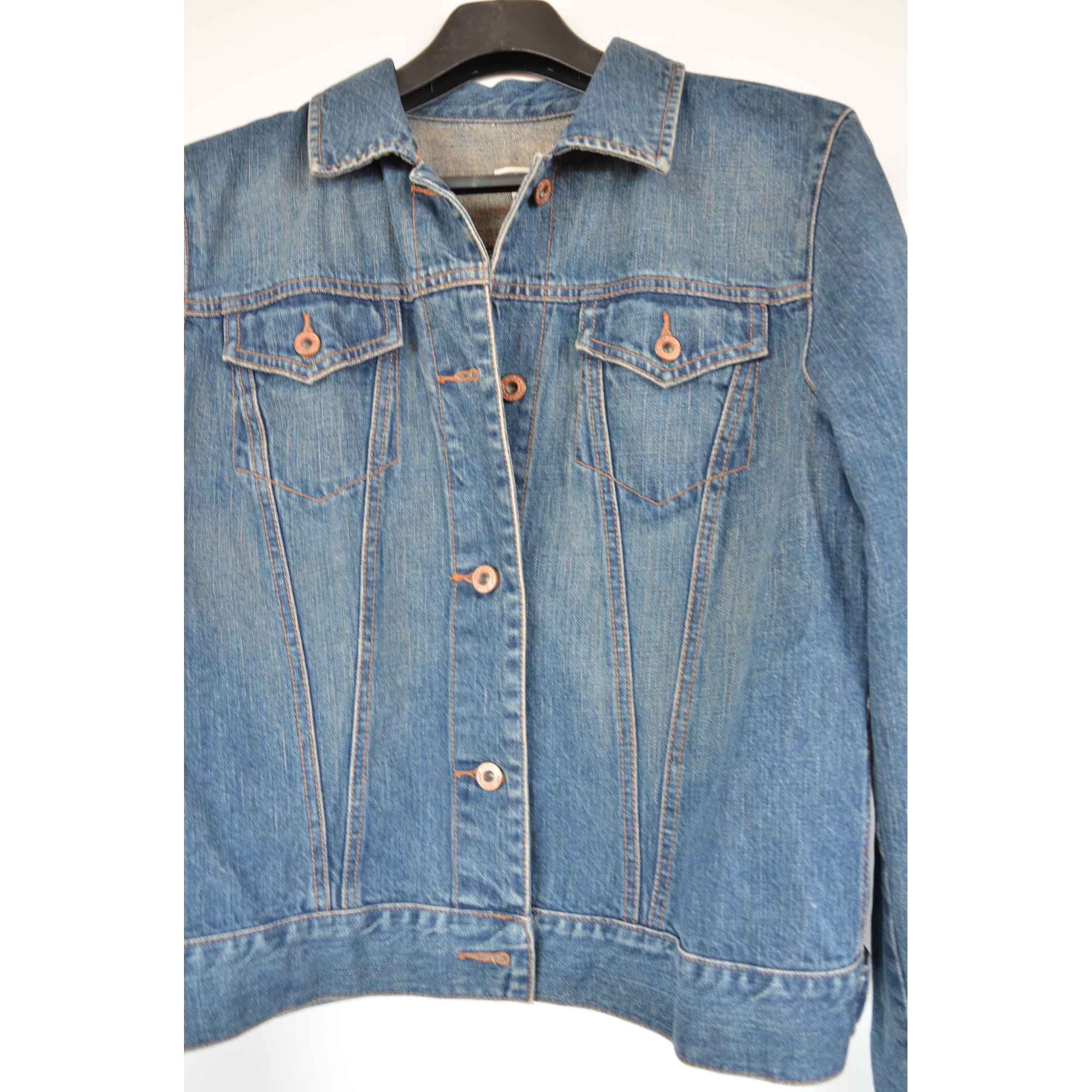Veste en jean GAP Bleu, bleu marine, bleu turquoise