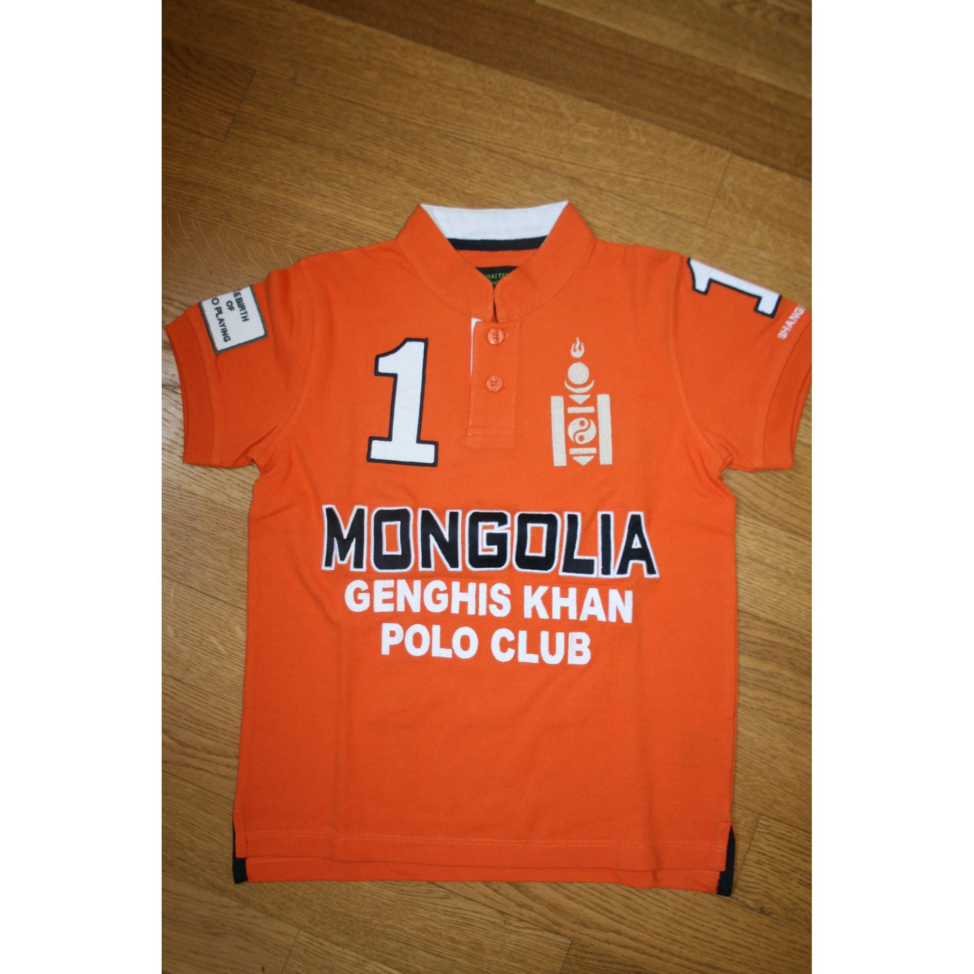 Polo SHANGHAI TANG Orange