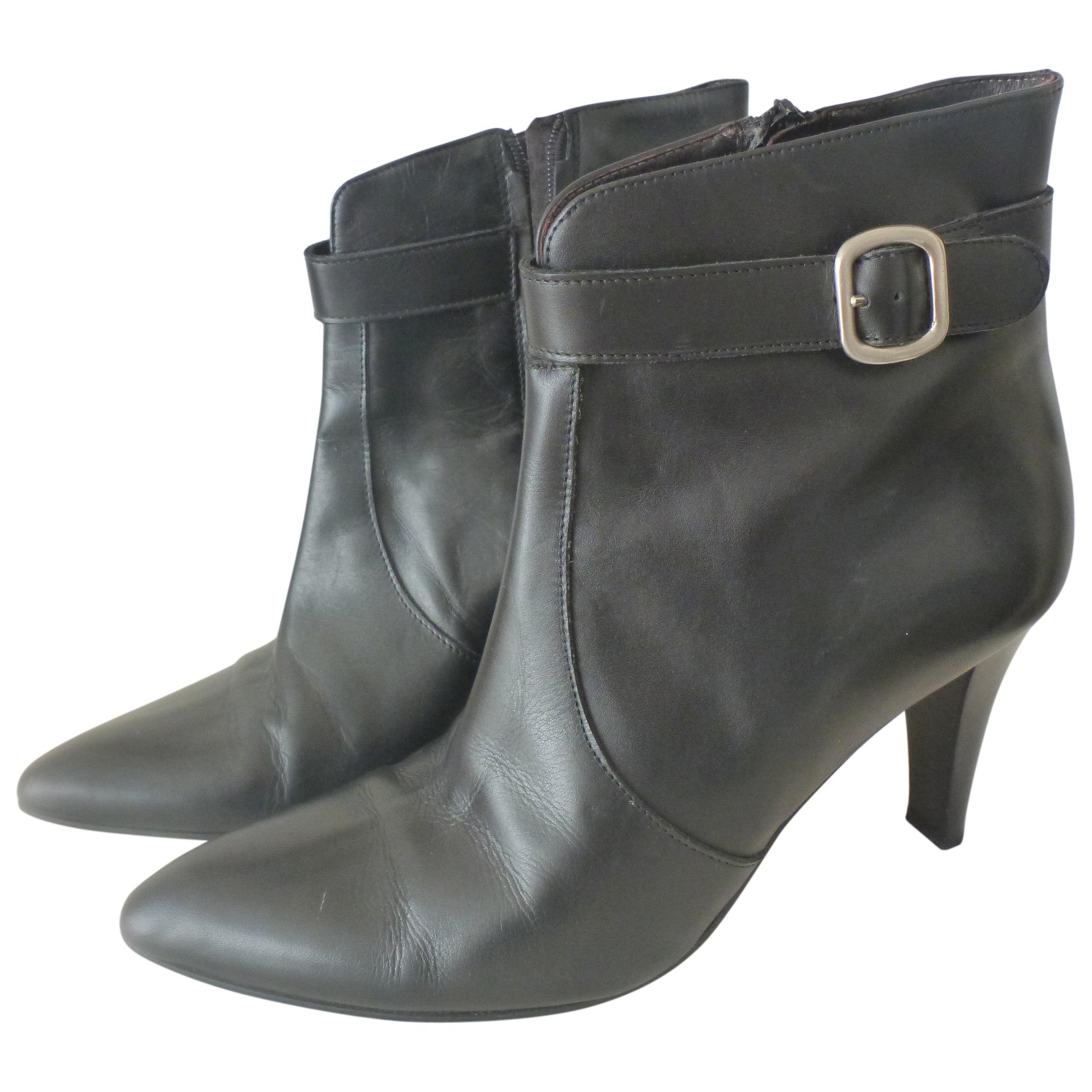 Bottines & low boots à talons CYRILLUS Noir