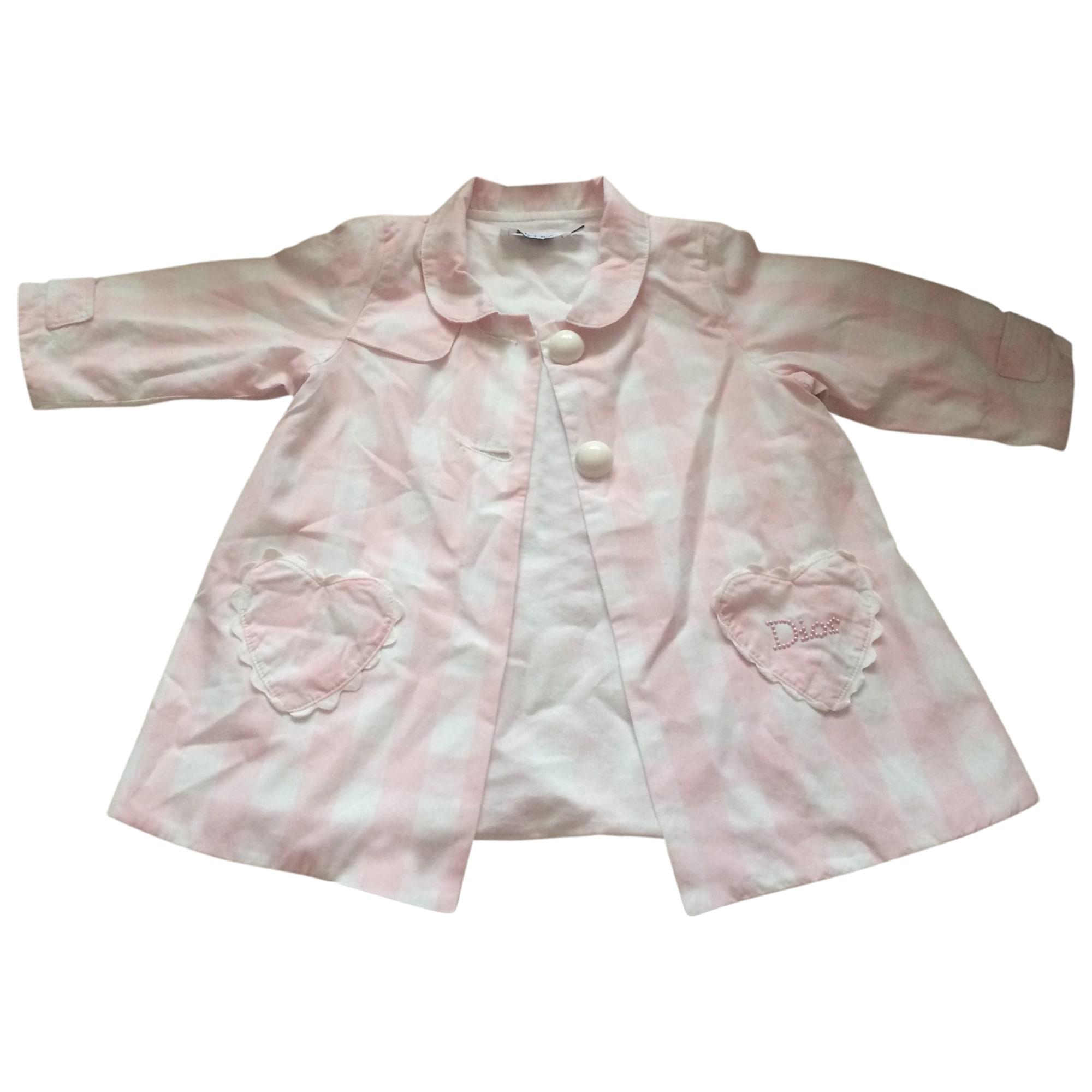 Coat BABY DIOR Pink, fuchsia, light pink