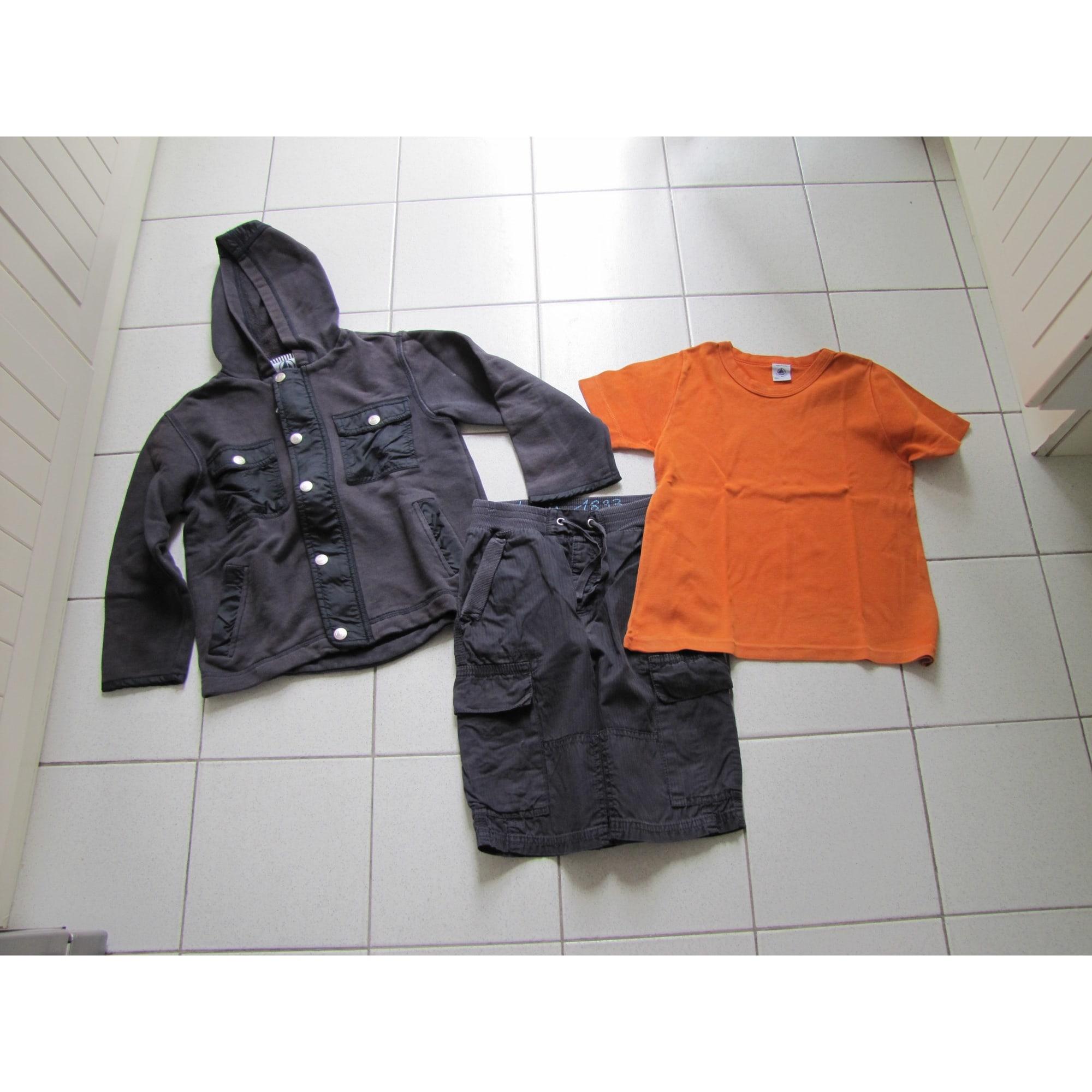 Anzug, Set für Kinder, kurz PETIT BATEAU Mehrfarbig