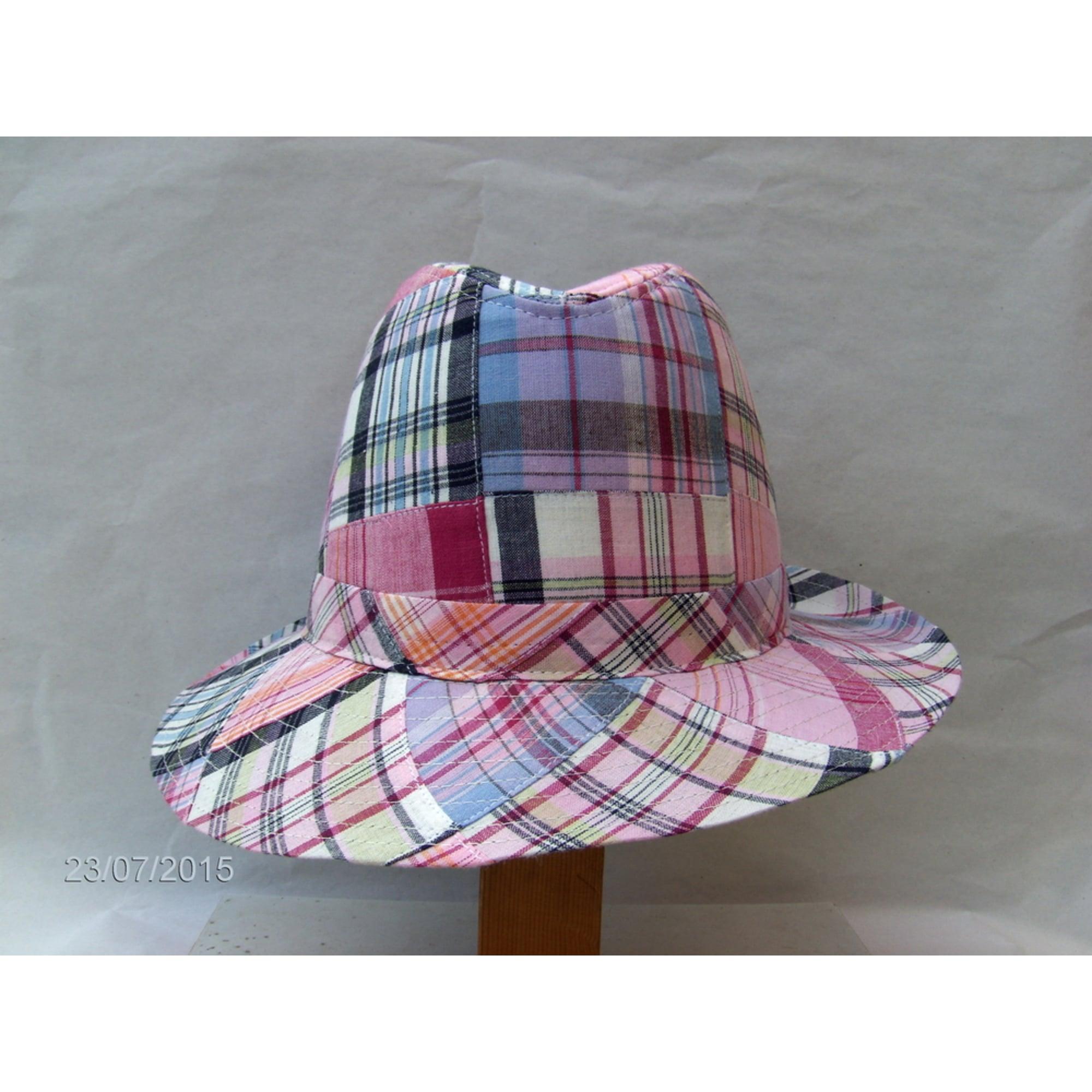 Chapeau DANIELE MERCURI rosa