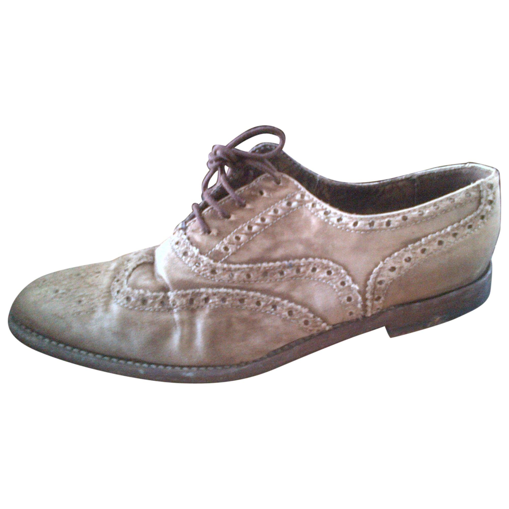 Chaussures à lacets  PAUL SMITH Beige, camel
