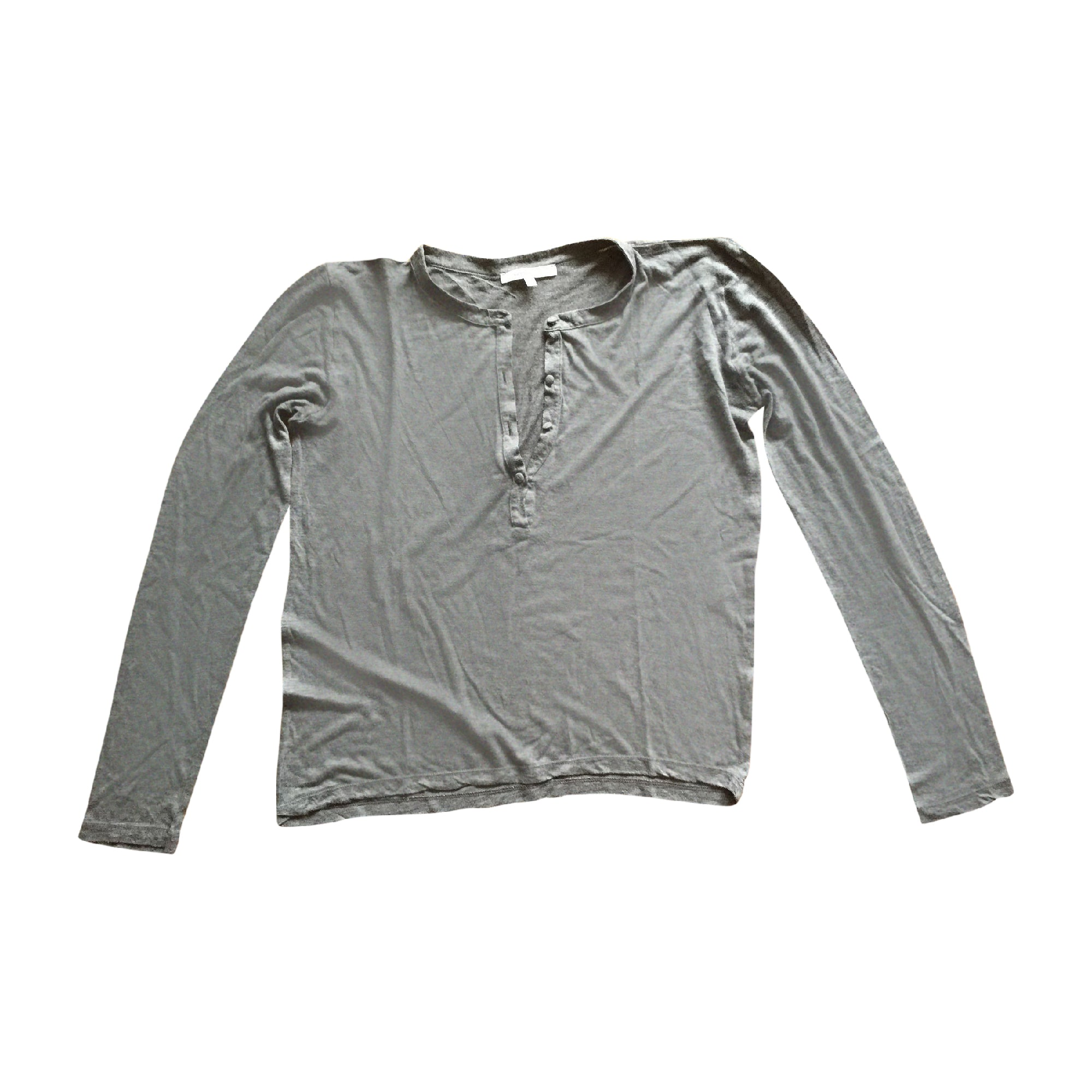 Top, tee-shirt VANESSA BRUNO Gris, anthracite