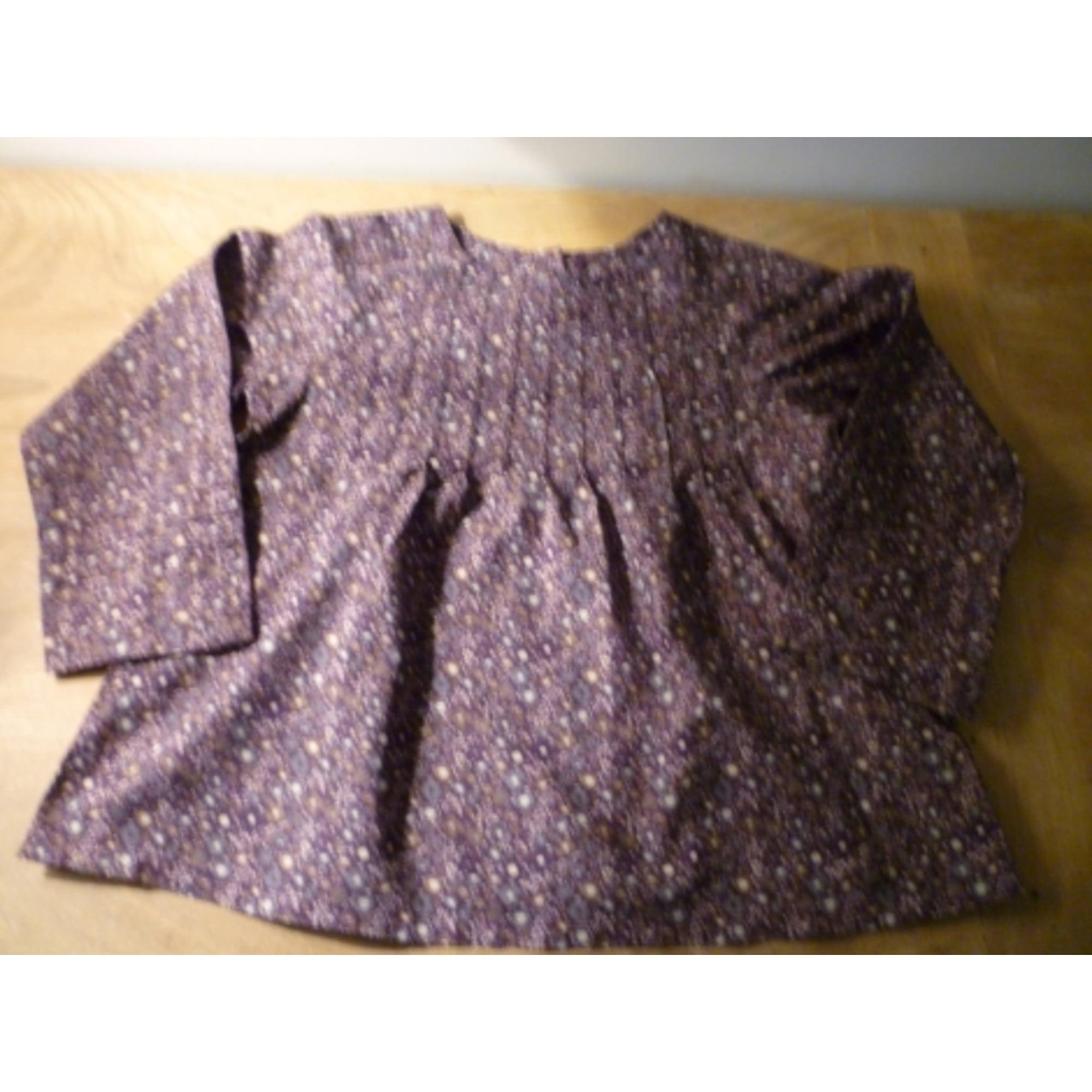 Blouse TROIZENFANTS Violet, mauve, lavande