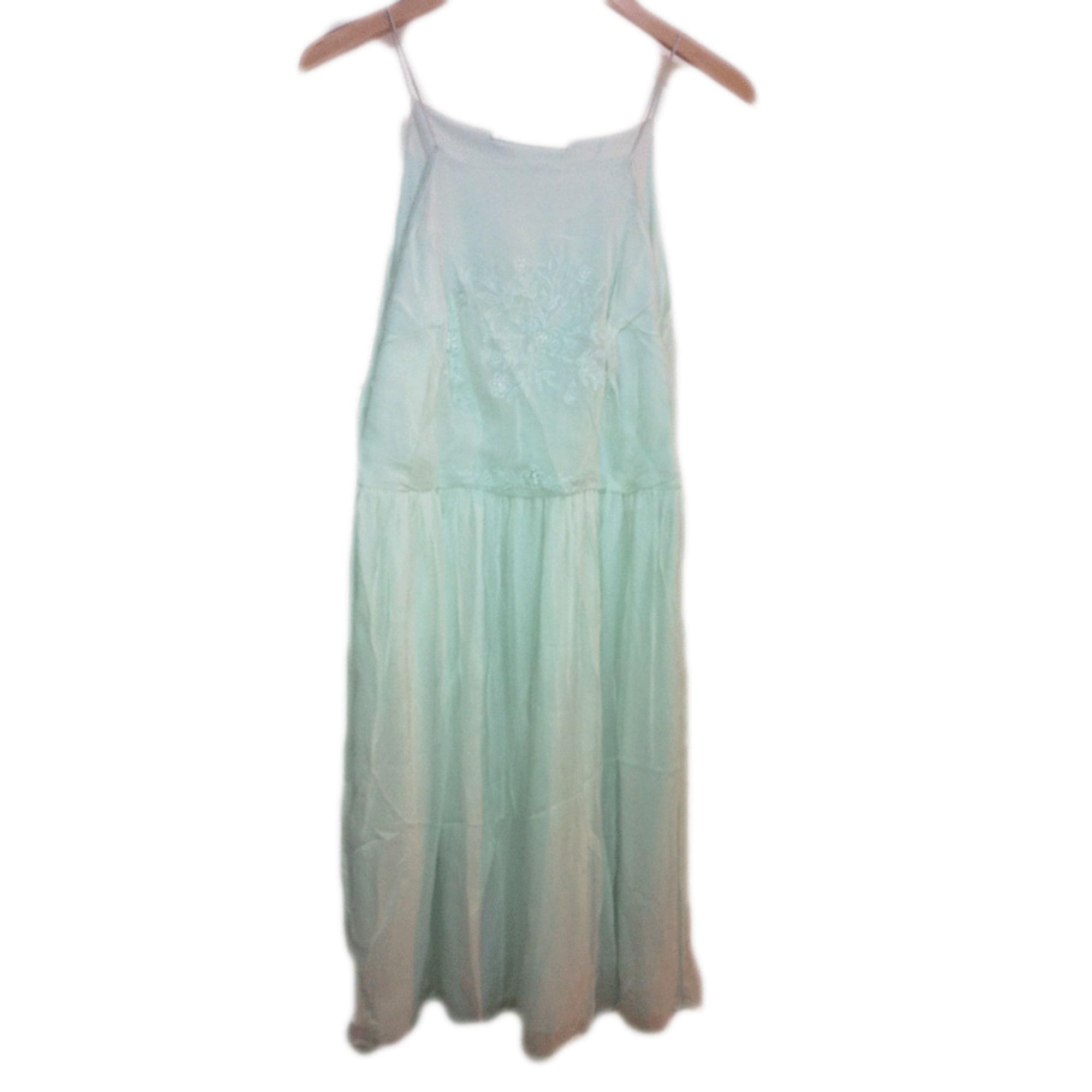 Robe mi-longue ZARA Bleu, bleu marine, bleu turquoise