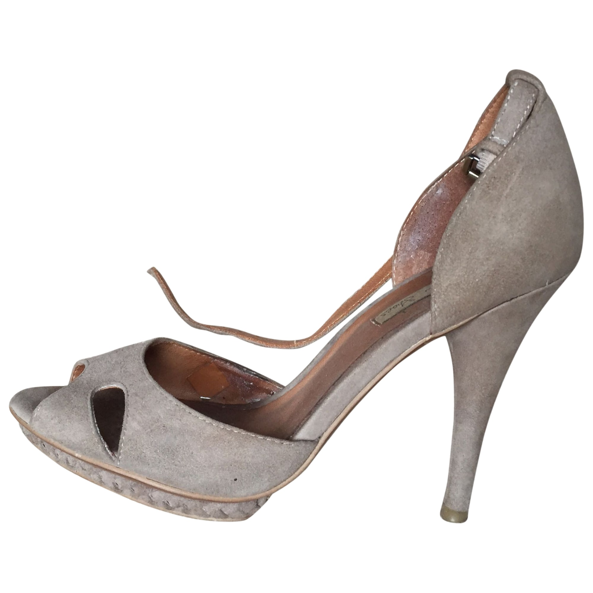 Sandales à talons TOSCA BLU Beige, camel