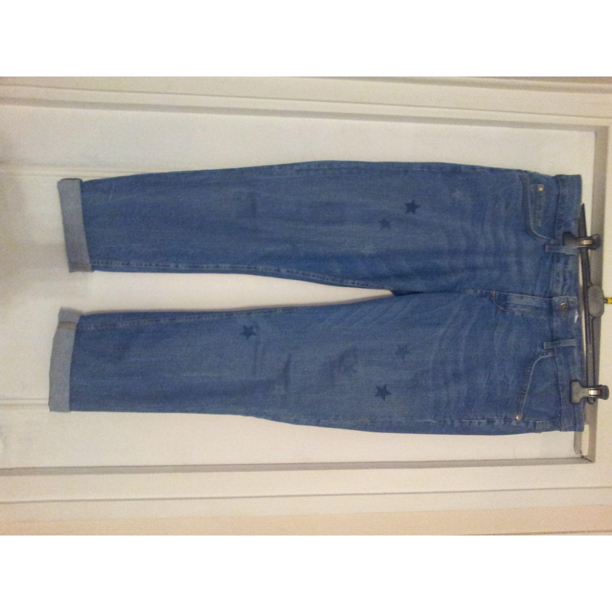 Jeans large, boyfriend LIU JO Bleu, bleu marine, bleu turquoise