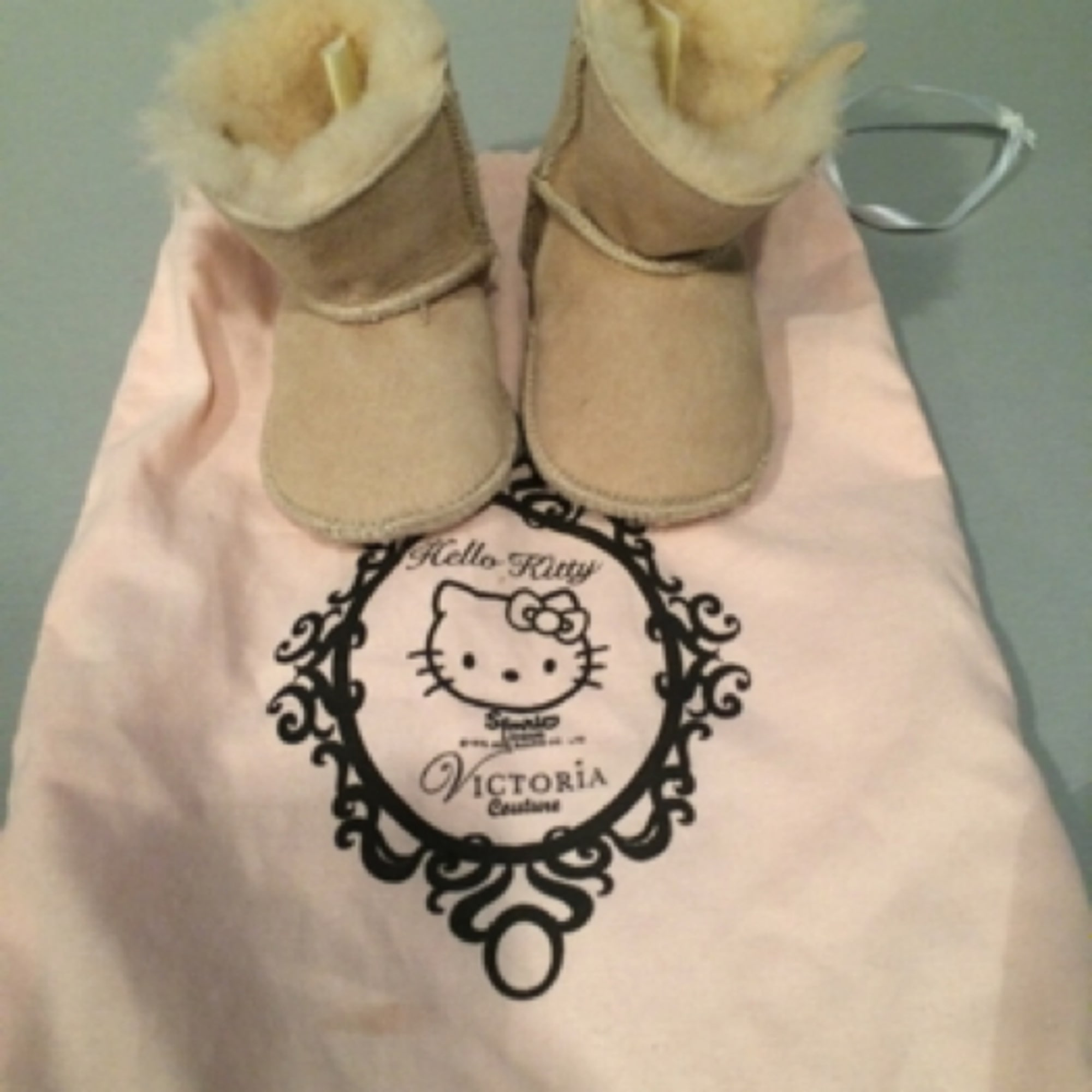 Ankle Boots VICTORIA COUTURE PAR VICTORIA CASAL Beige, camel