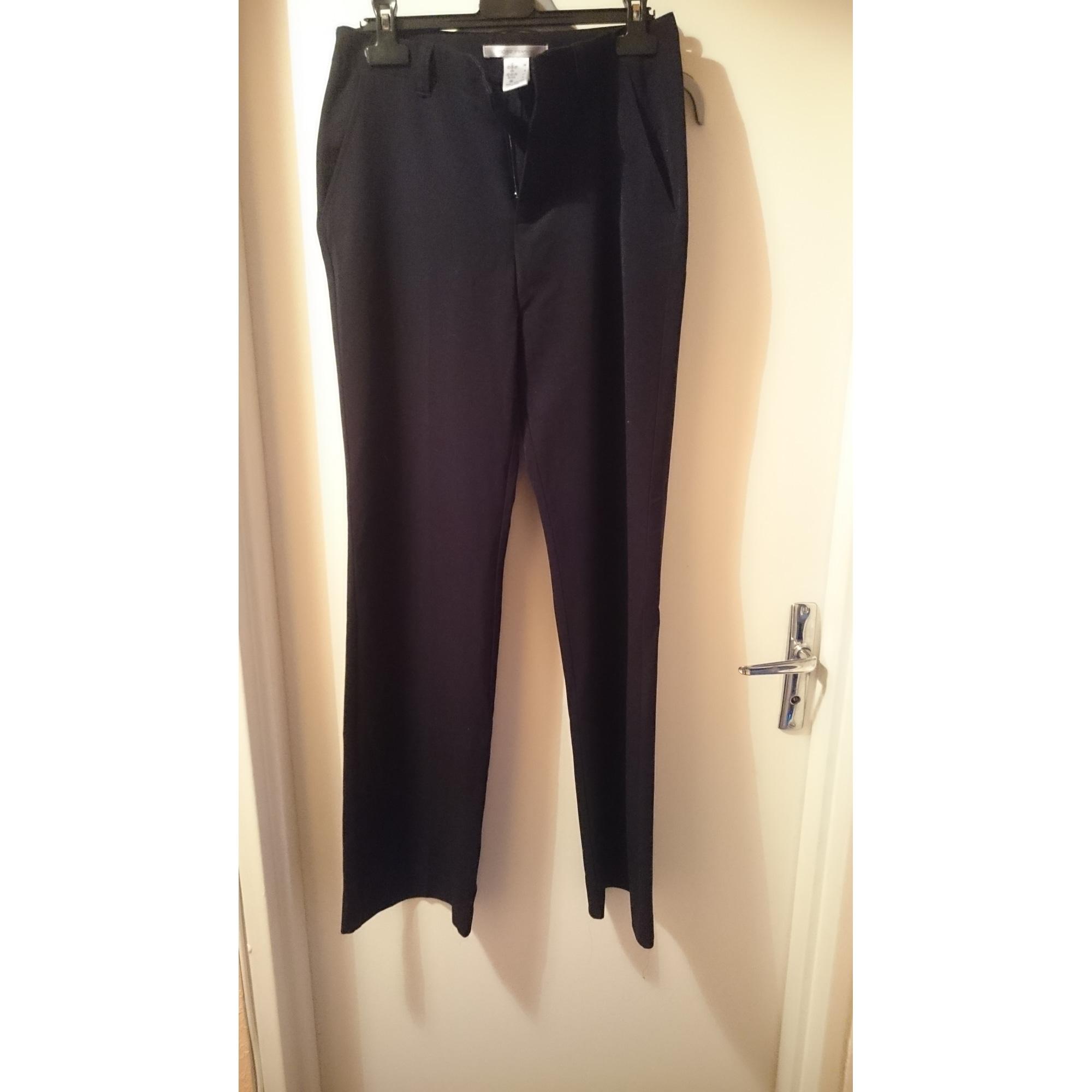 Straight Leg Pants CÔTÉ FEMME Black