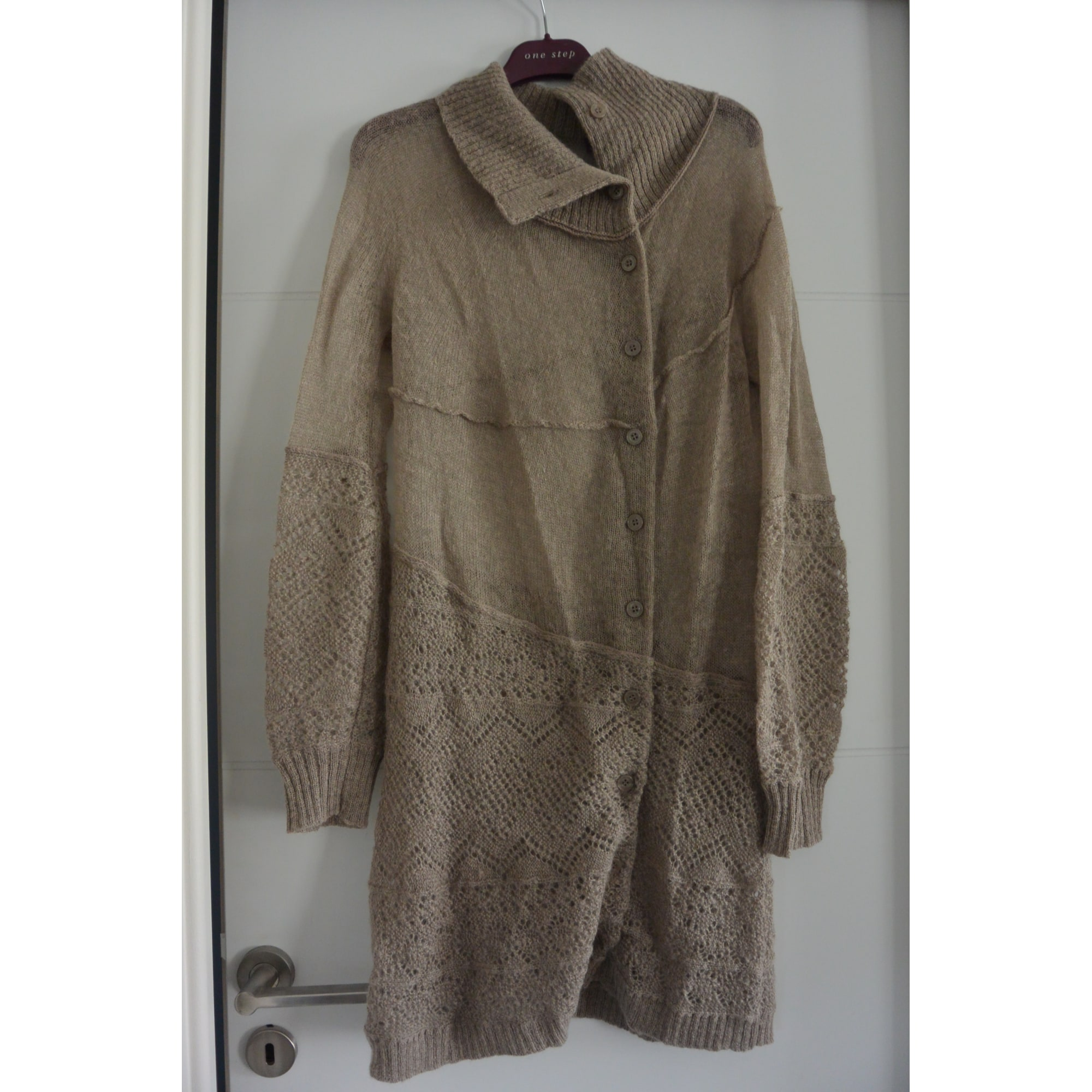 Pull tunique ONE STEP Beige, camel