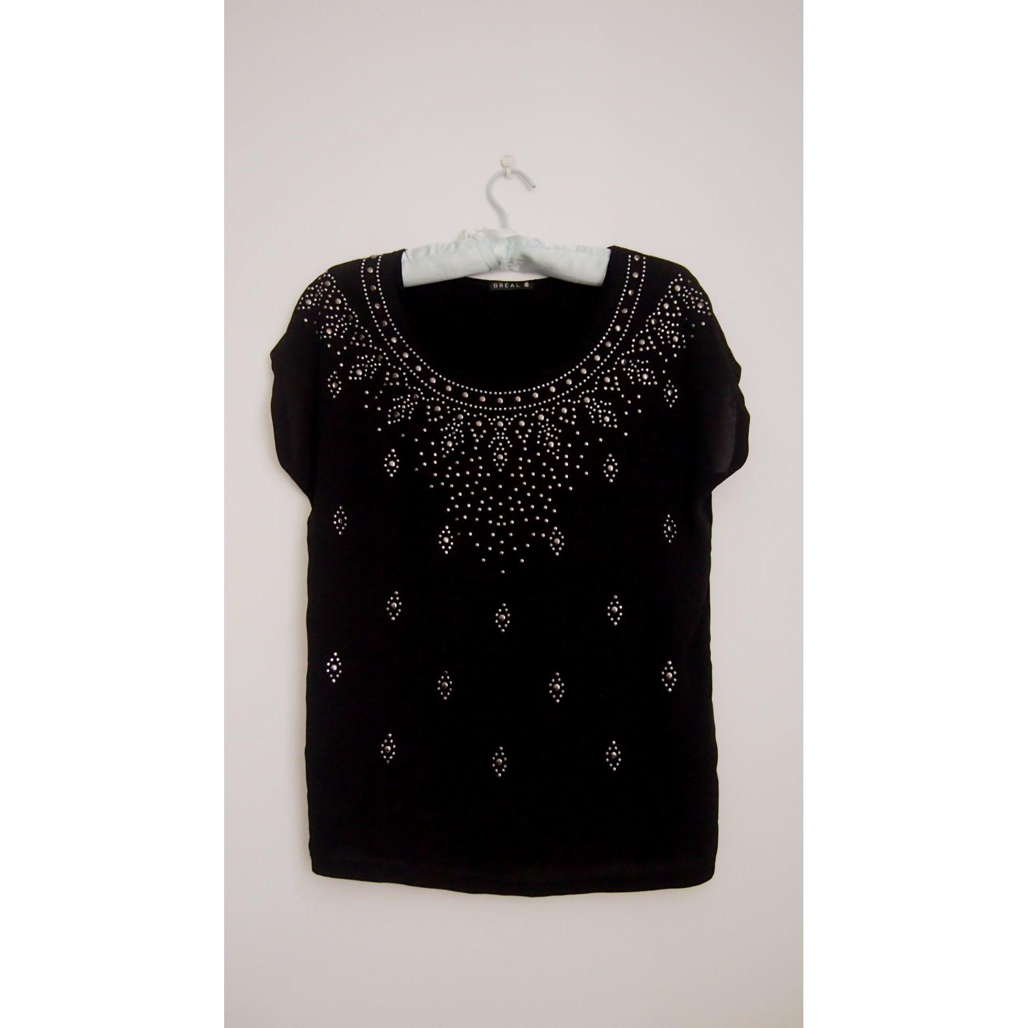 Top, tee-shirt BRÉAL Noir