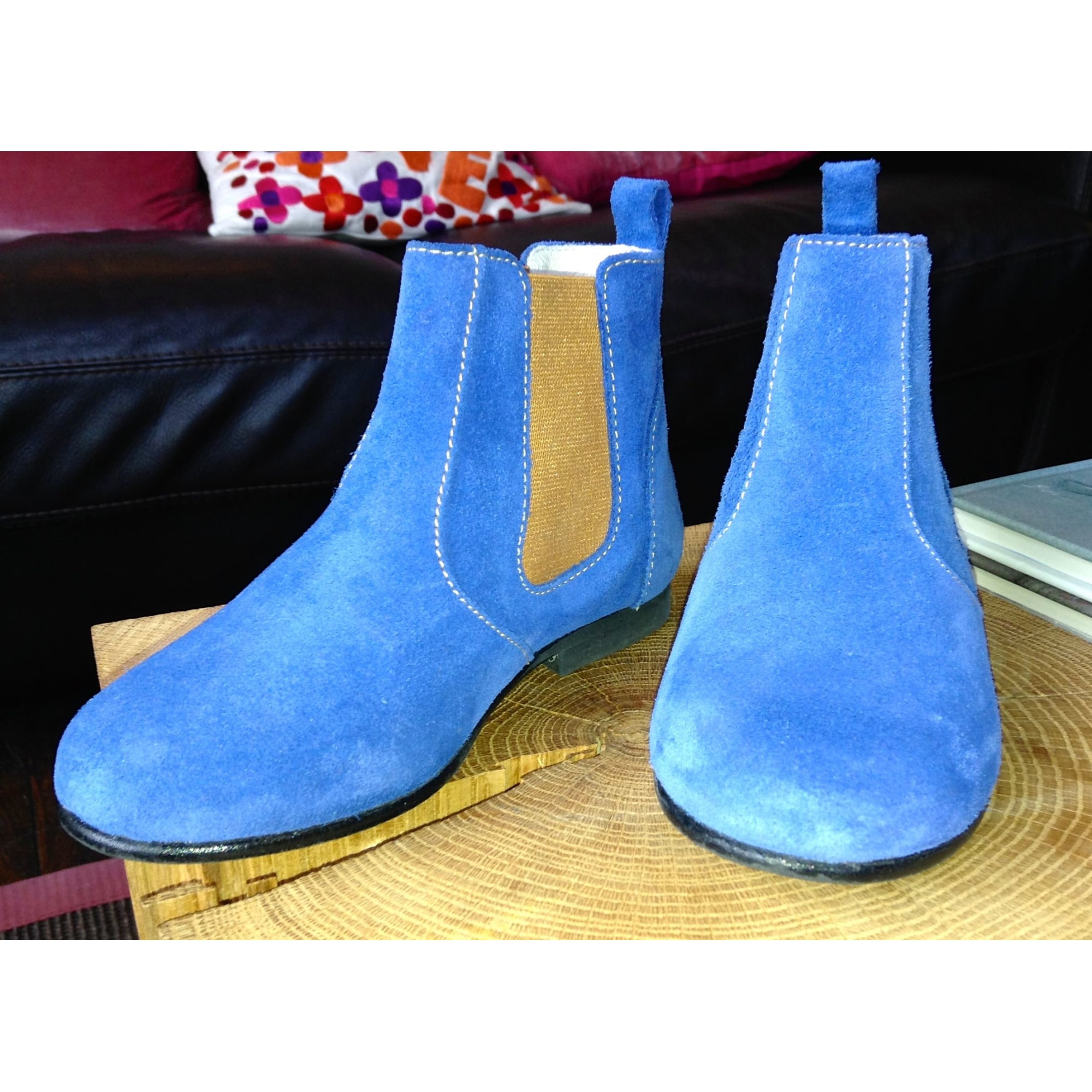 Ankle Boots CLOTAIRE Blue, navy, turquoise