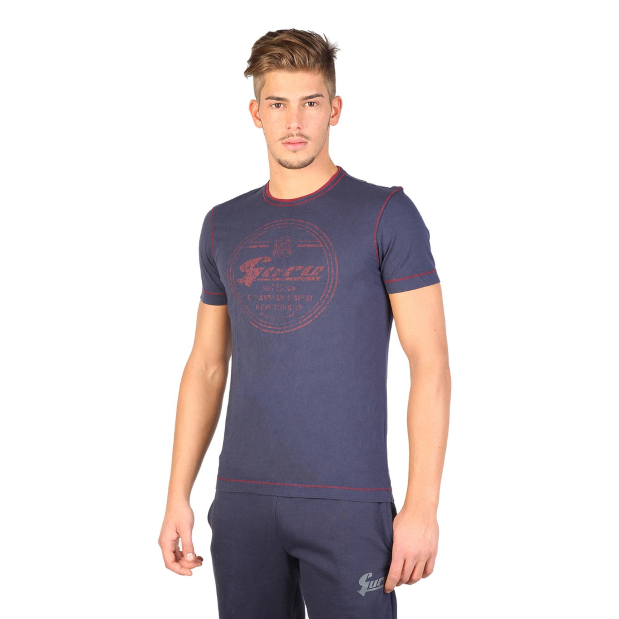 Tee-shirt GURU Bleu, bleu marine, bleu turquoise
