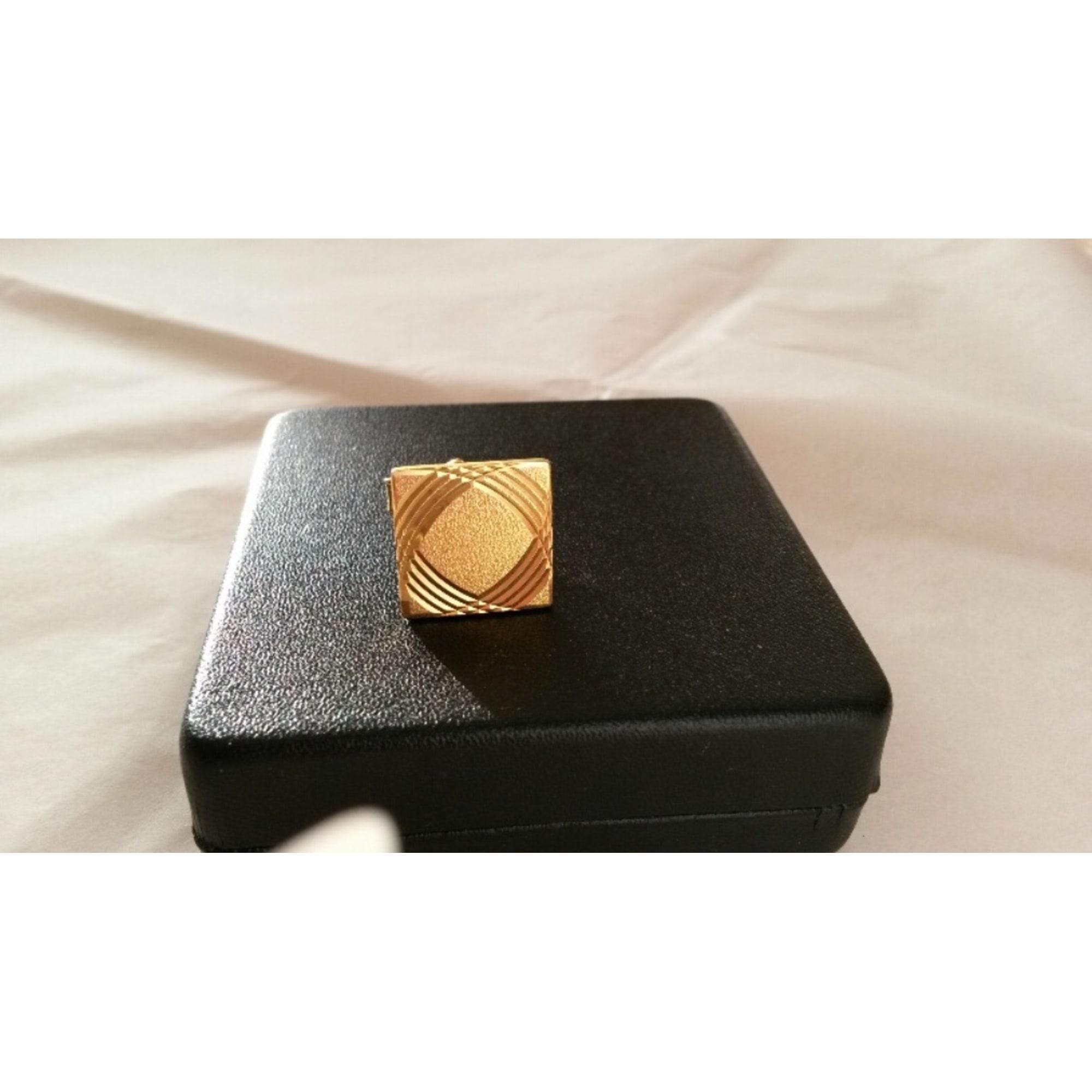 Cufflinks OLYMPIC Golden, bronze, copper