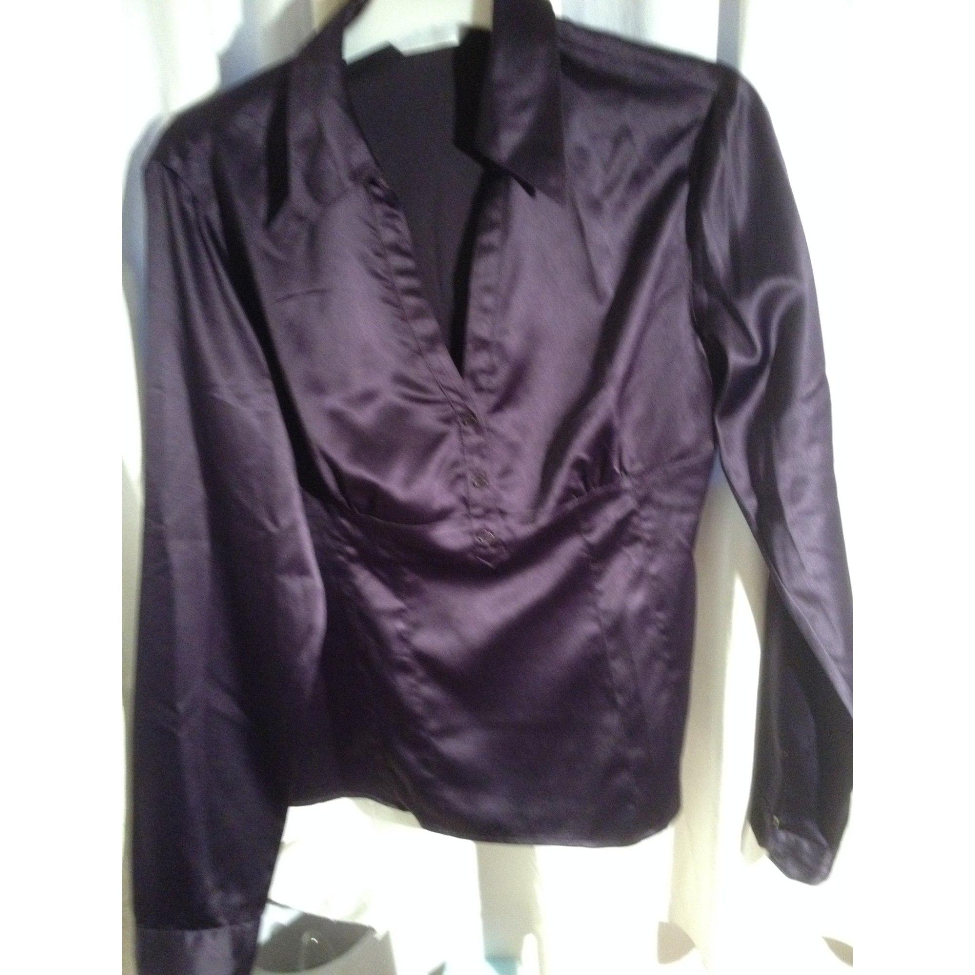 Chemisier PROMOD violet aubergine