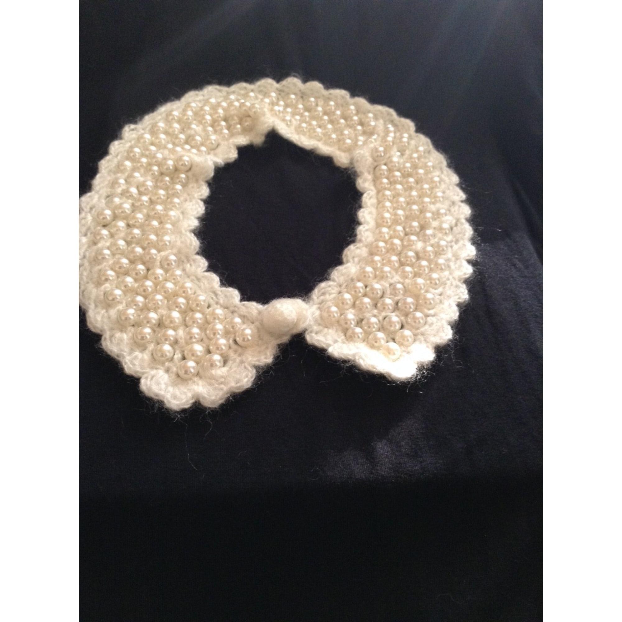 Bow Tie ASOS White, off-white, ecru