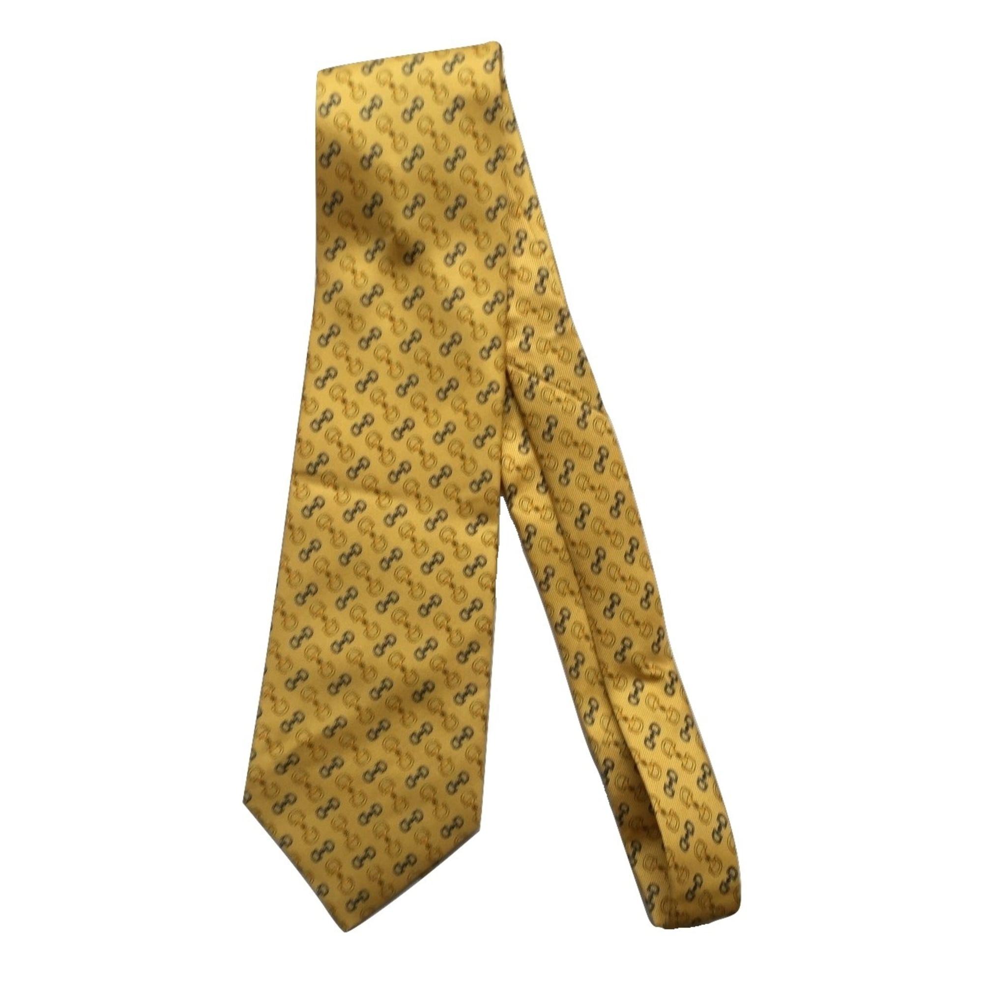 Cravate LANCEL Jaune