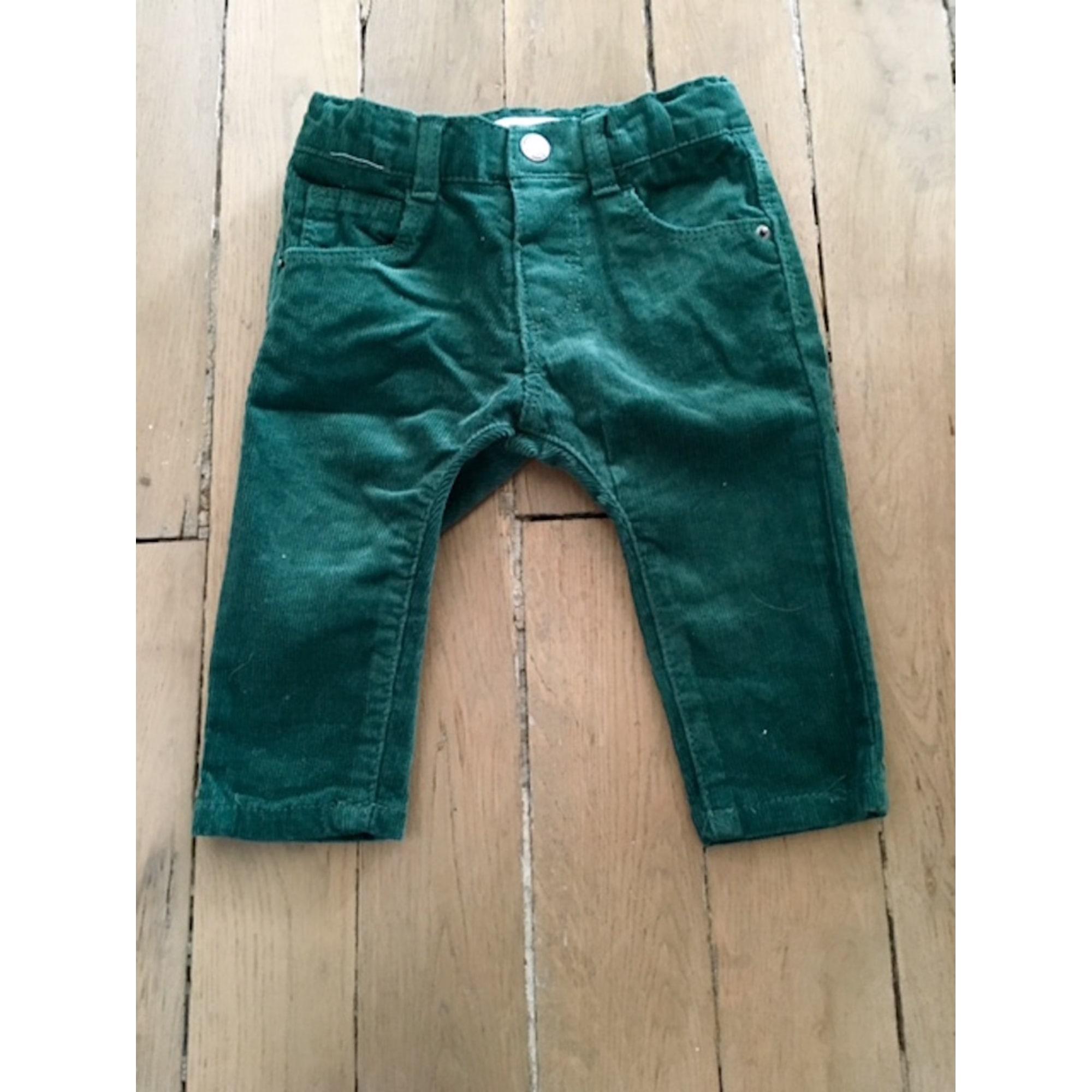 Pantalon ZARA Vert