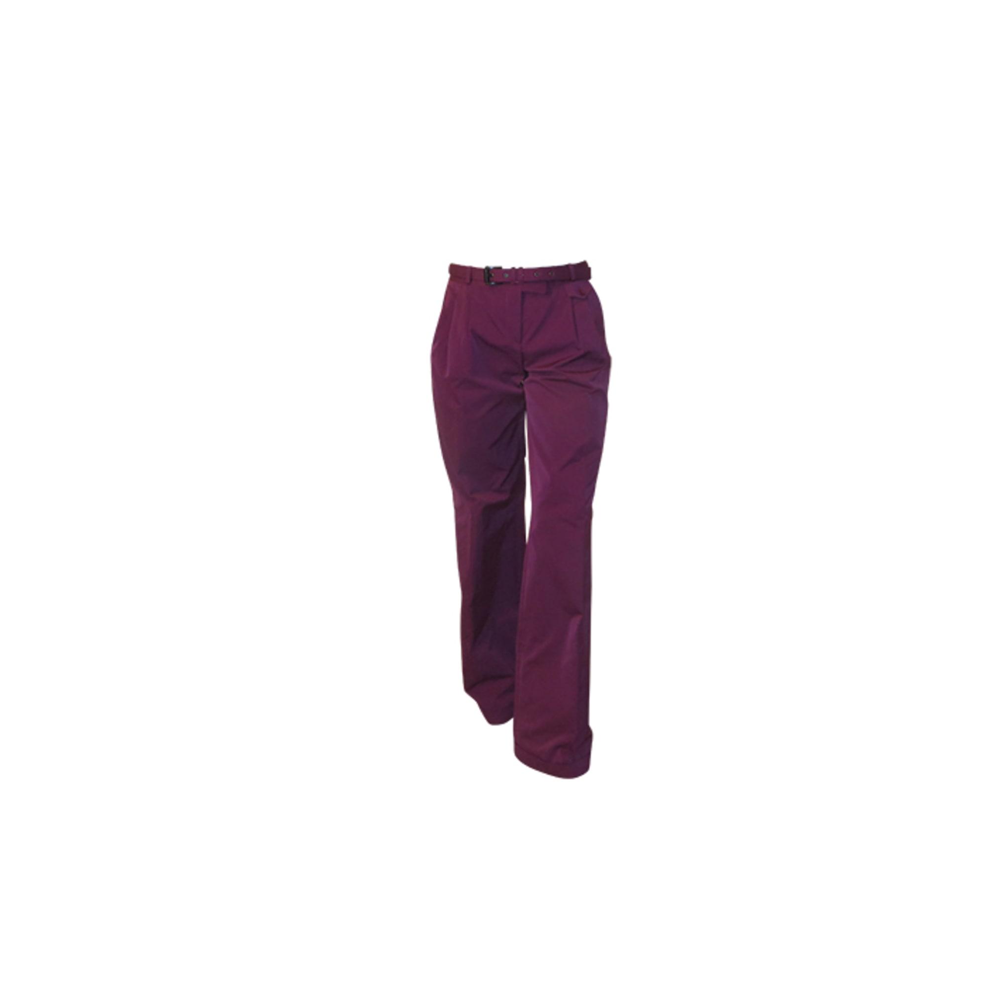 Pantalon large HUGO BOSS Rose, fuschia, vieux rose