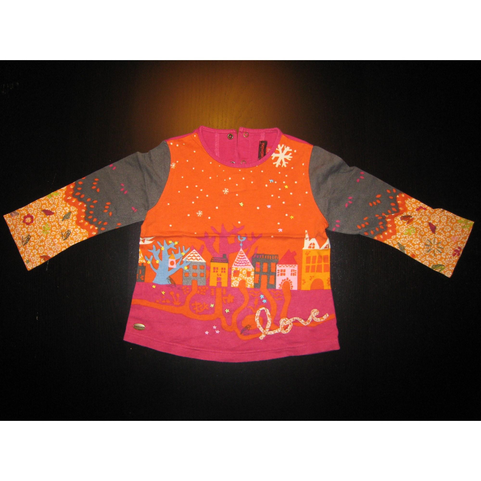 Top, tee shirt CATIMINI Orange