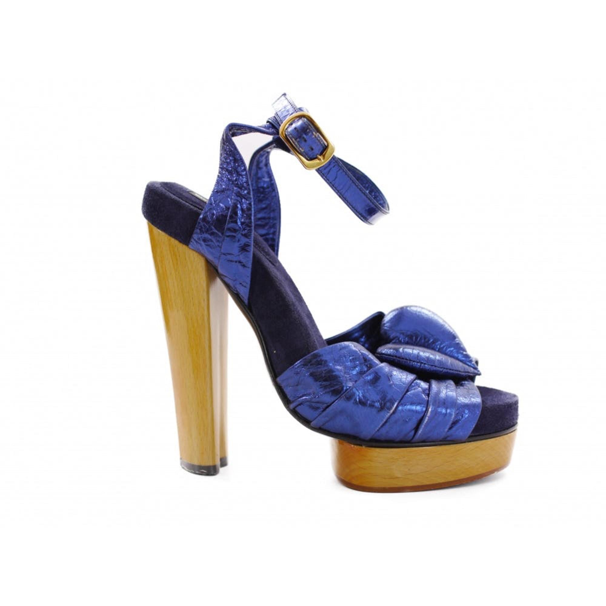 Sandales à talons MARC JACOBS Blu