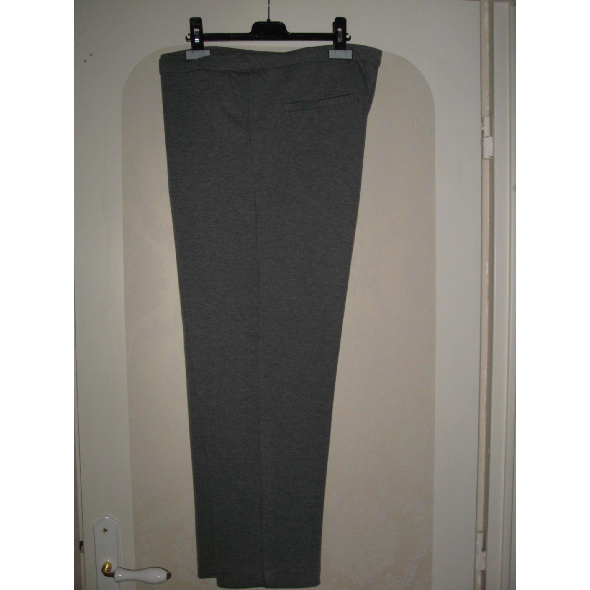 Pantalon droit KIABI Gris, anthracite