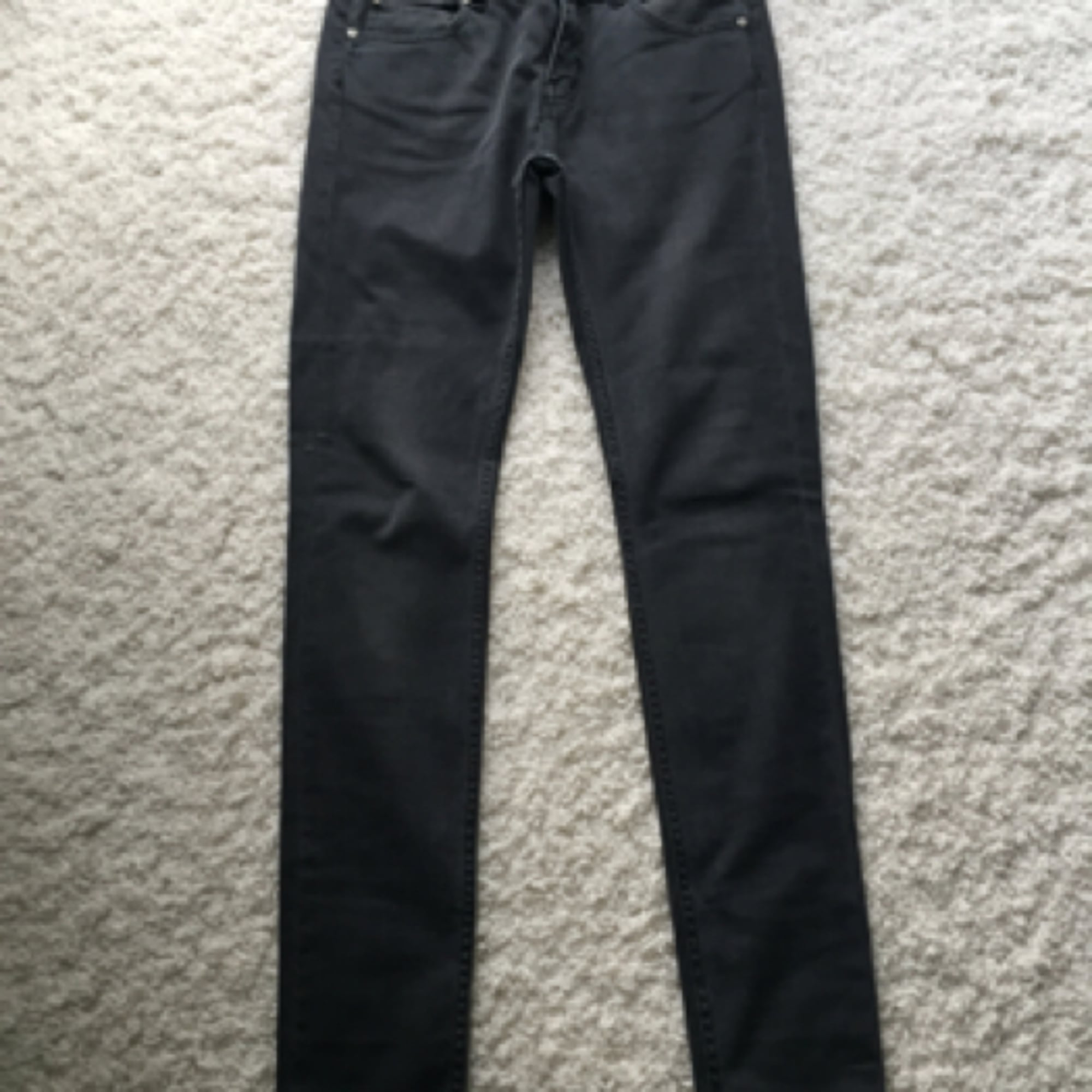 Jeans slim ELEVEN PARIS Gris, anthracite