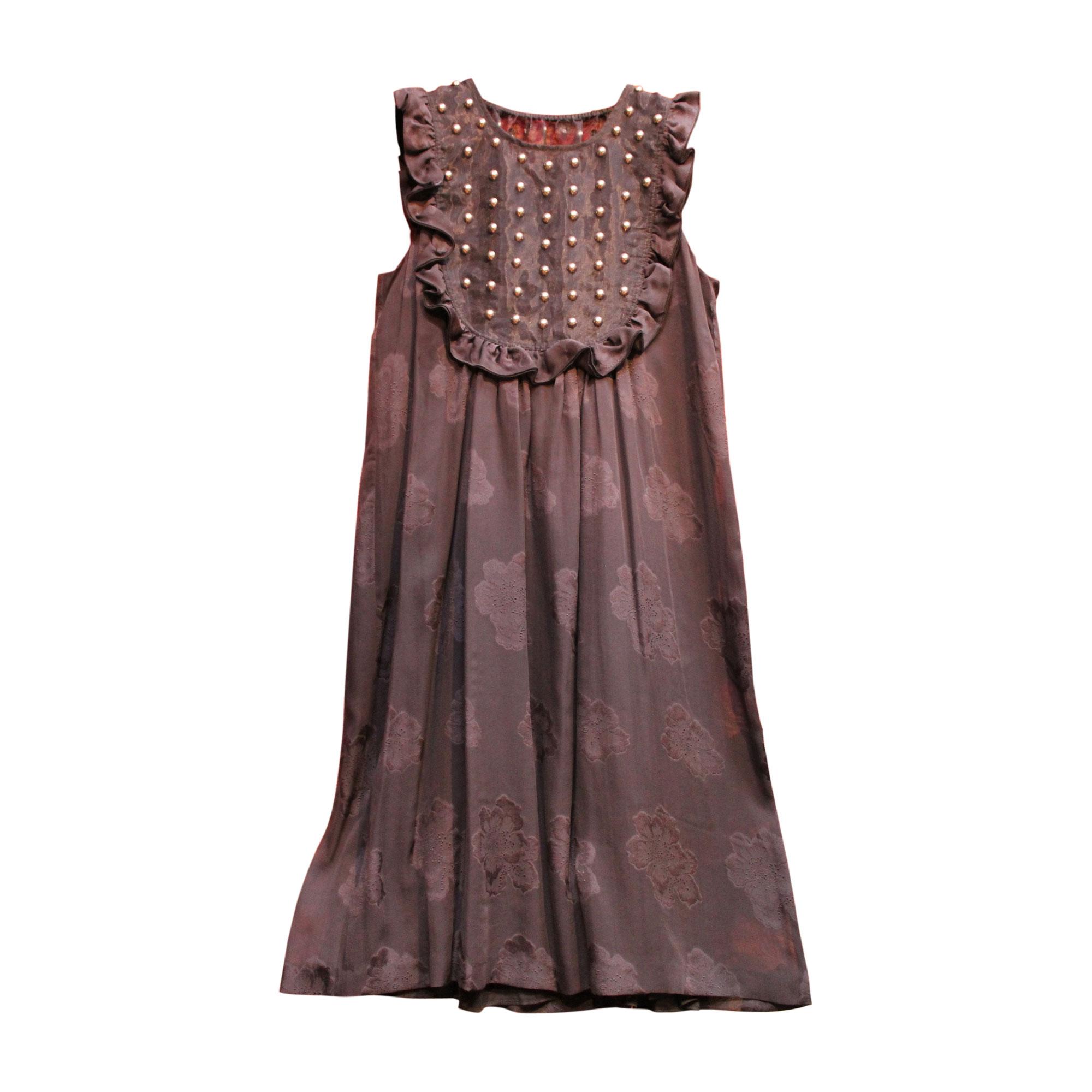 Robe courte MANOUSH Gris, anthracite