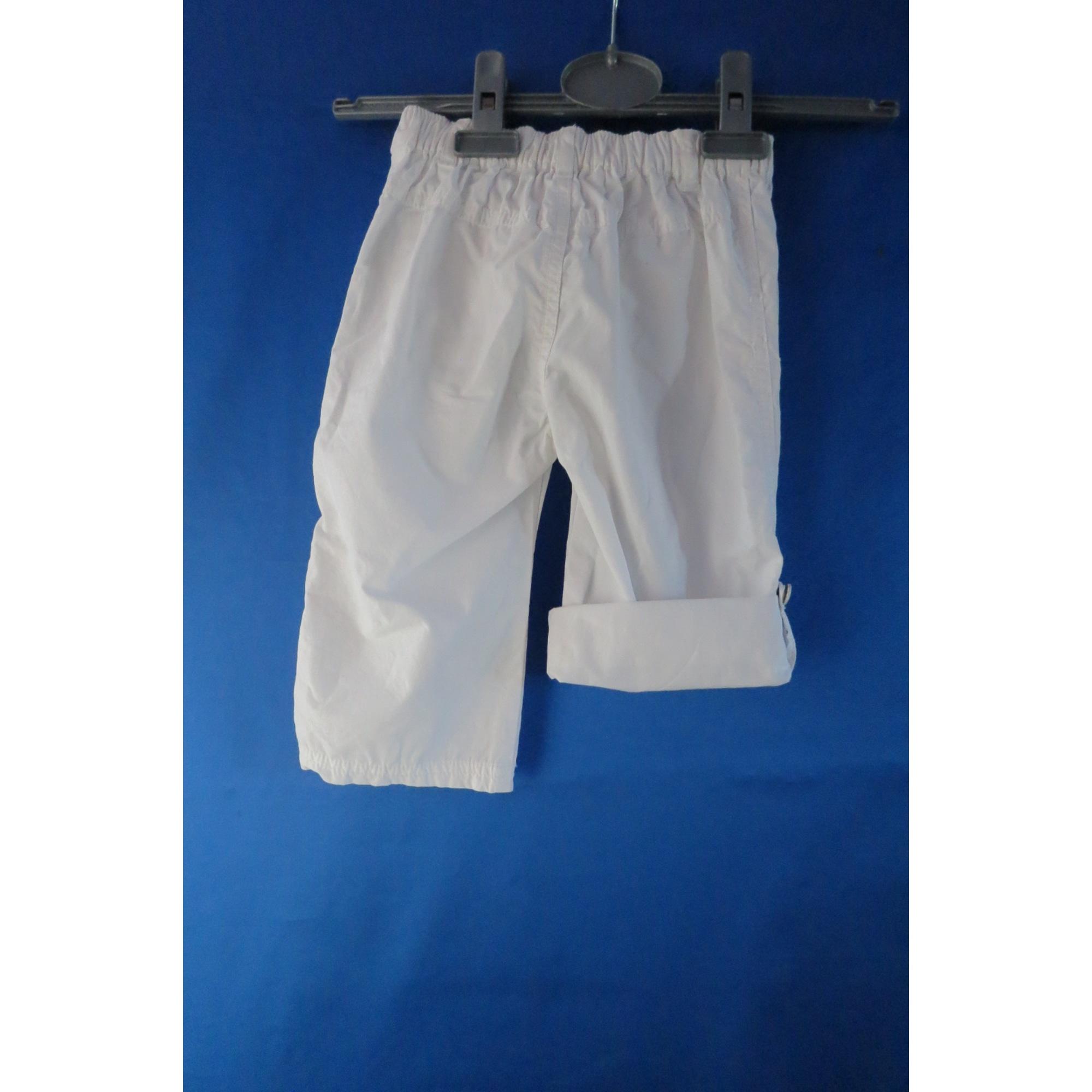 Pantalon TAPE À L'OEIL Blanc, blanc cassé, écru