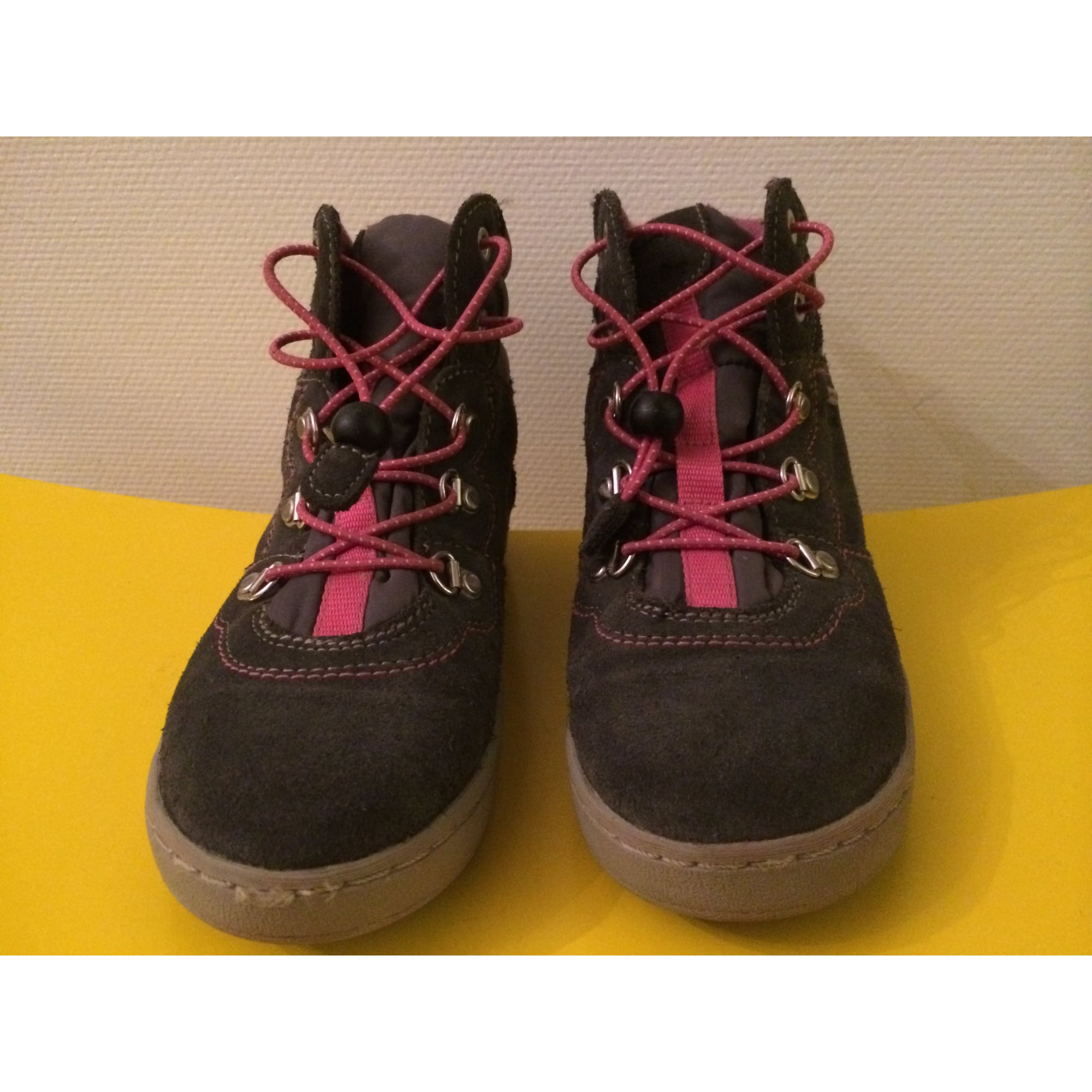Chaussures à lacets GEOX Gris, anthracite