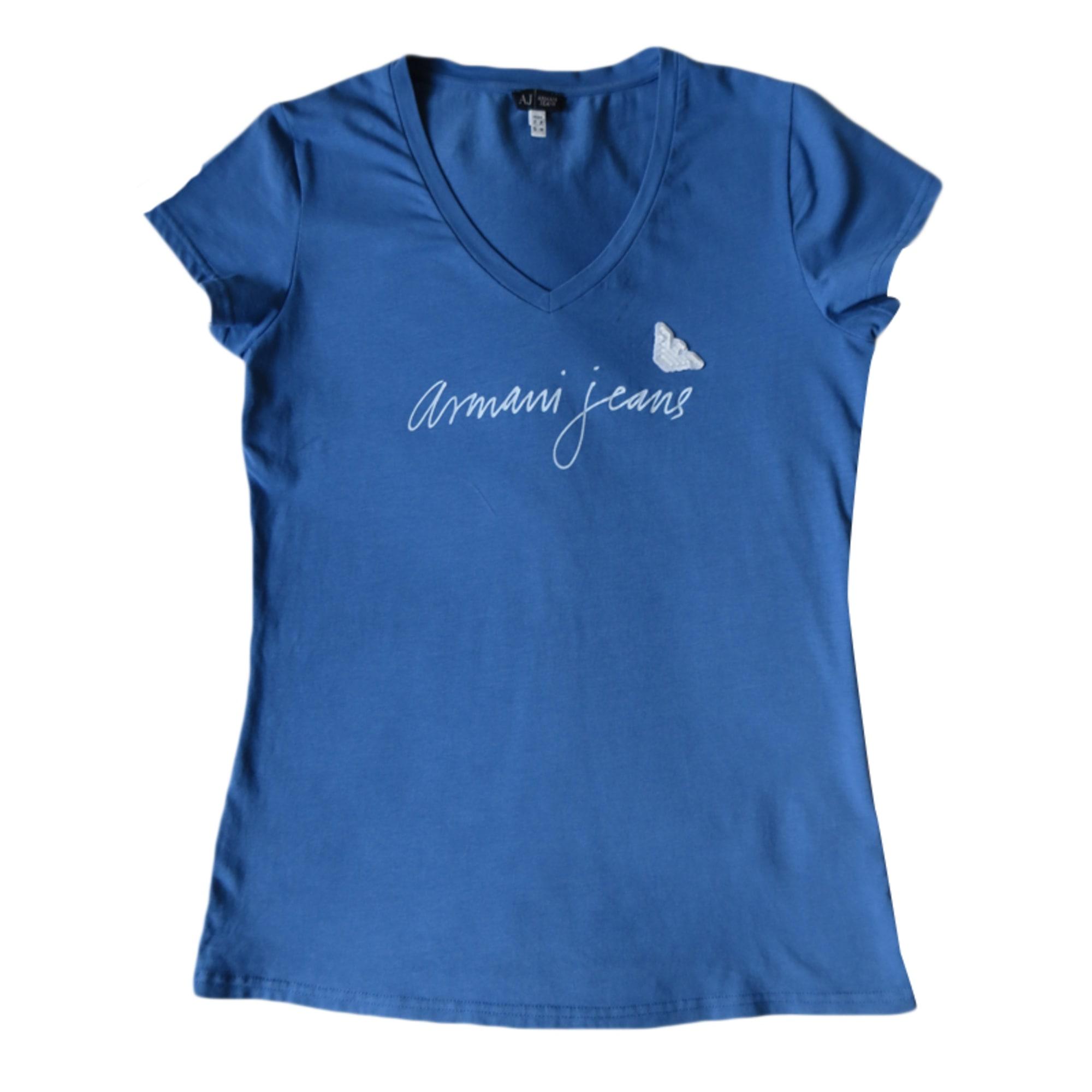 Top, tee-shirt ARMANI JEANS Bleu, bleu marine, bleu turquoise