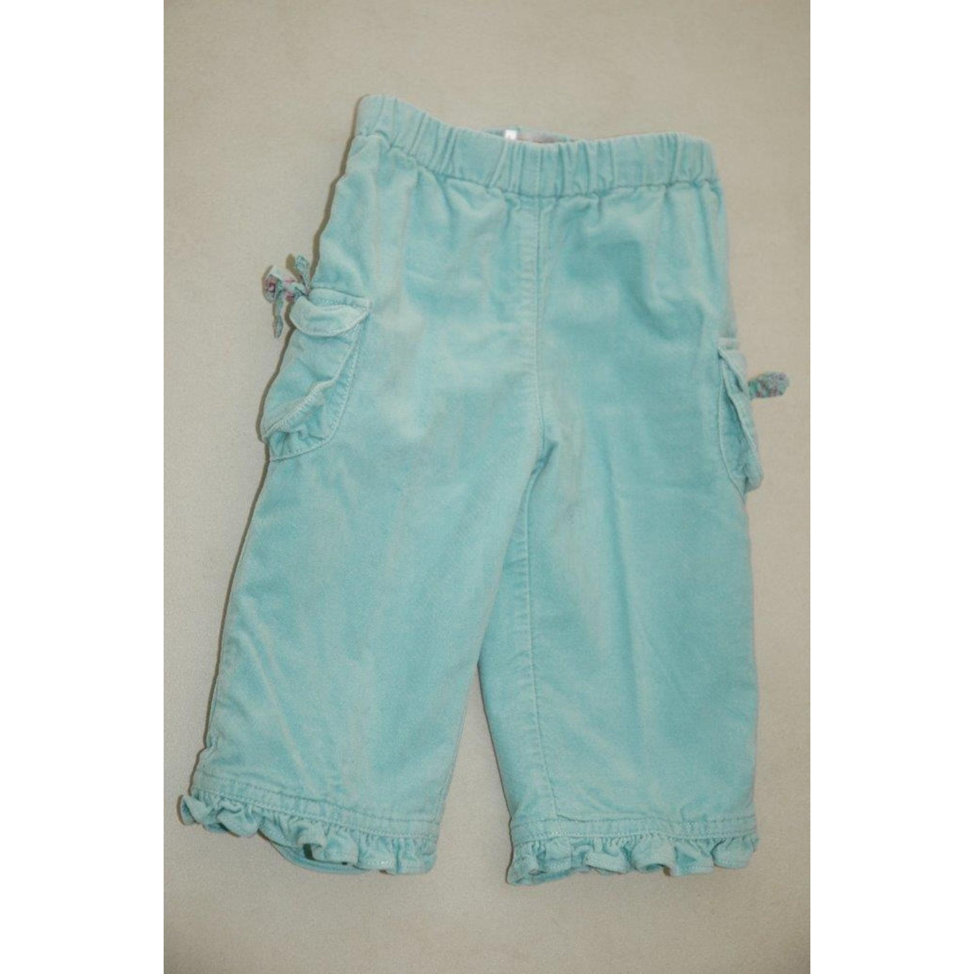 Pantalon CLAYEUX Bleu, bleu marine, bleu turquoise