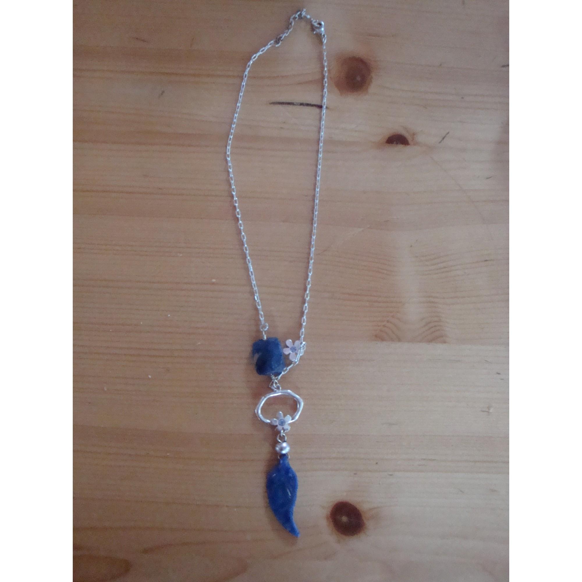 Collier MARQUE INCONNUE Bleu, bleu marine, bleu turquoise