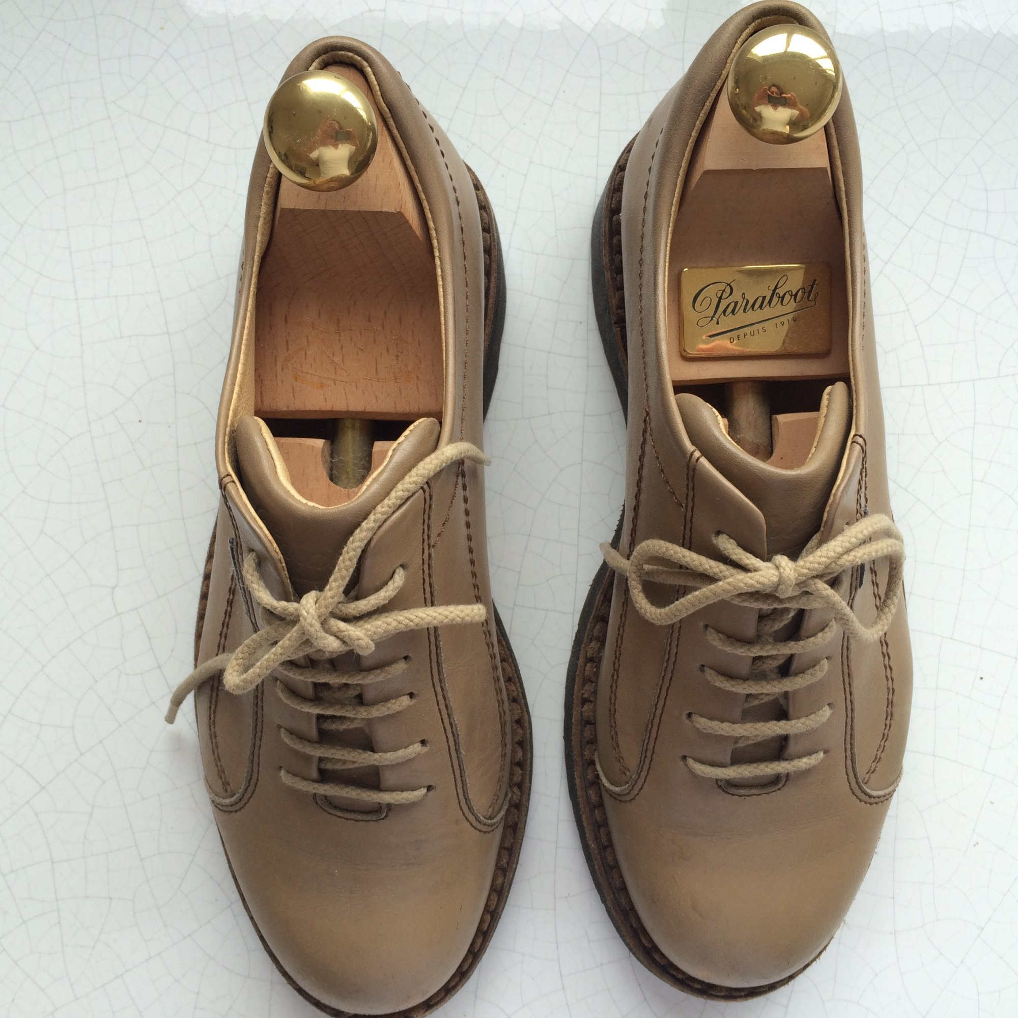 Chaussures à lacets  PARABOOT Beige