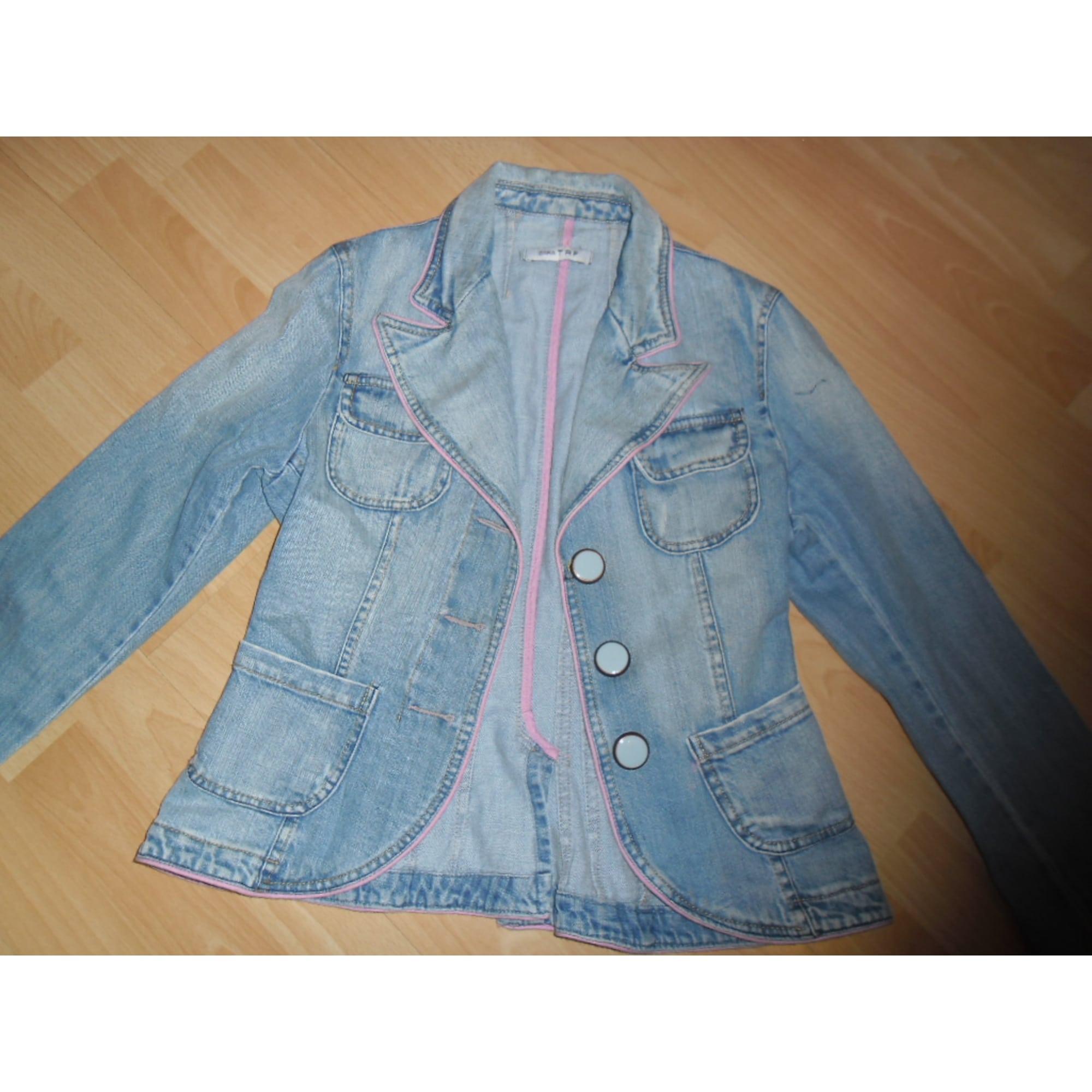 Blazer, veste tailleur ZARA Bleu, bleu marine, bleu turquoise