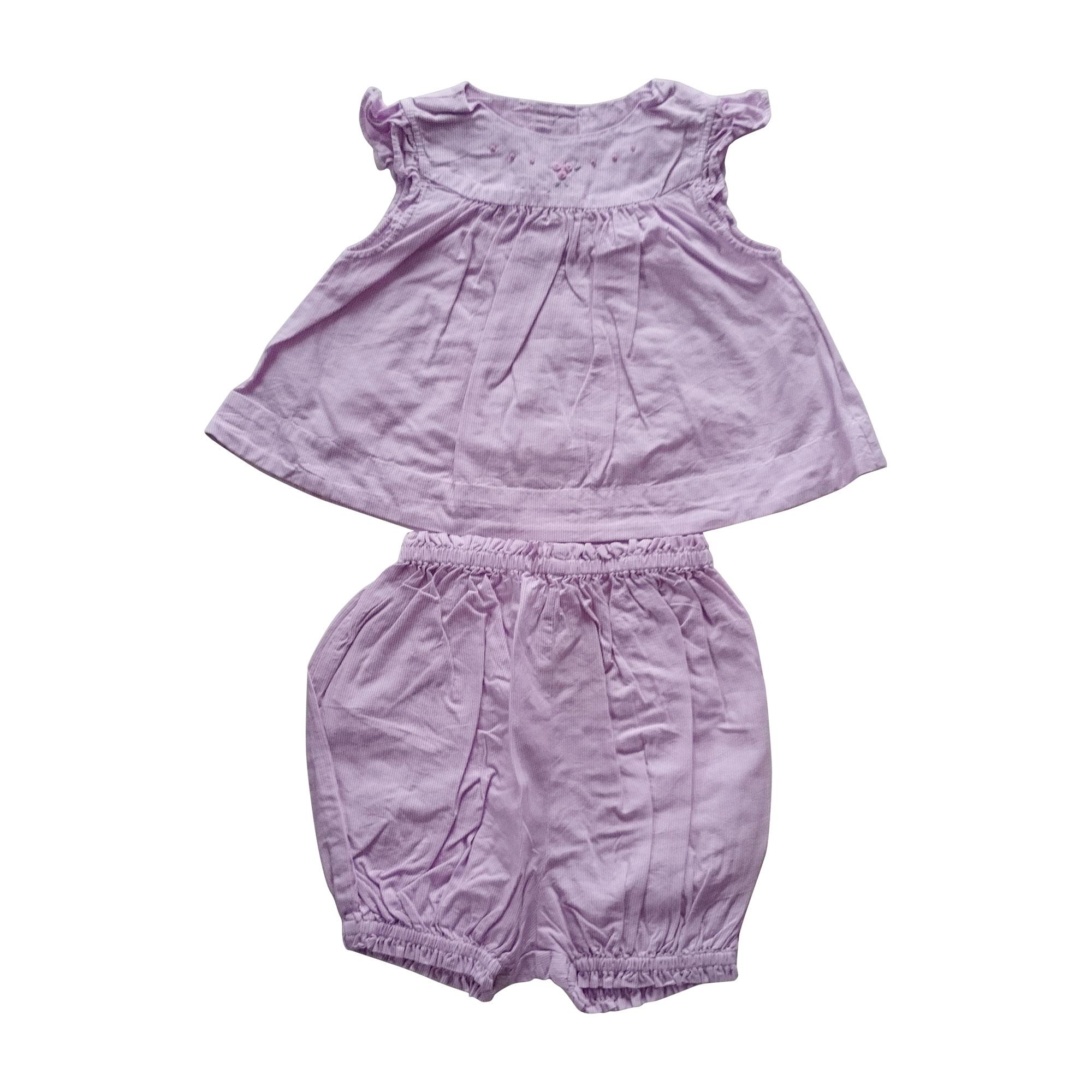 Ensemble & Combinaison pantalon JACADI Violet, mauve, lavande