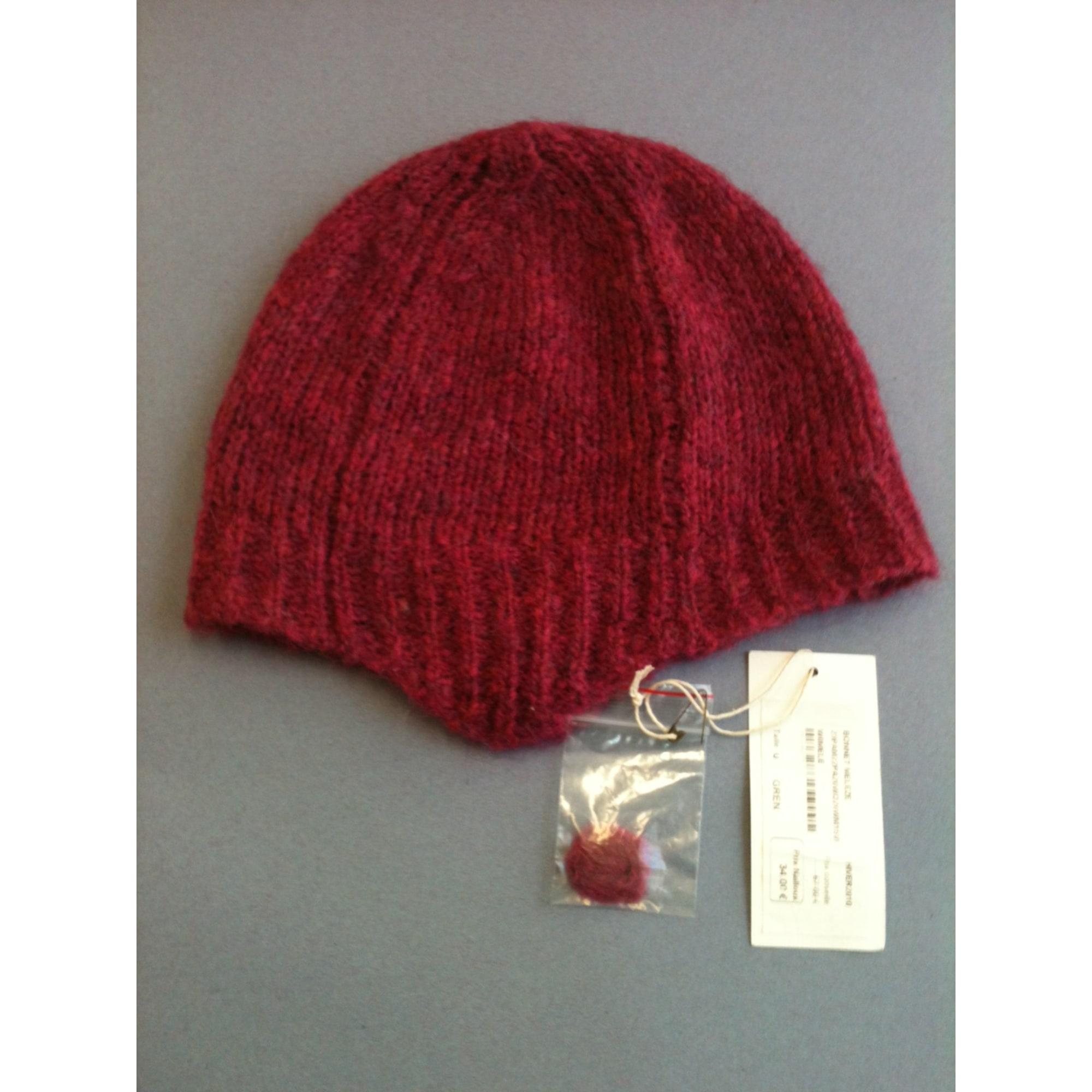 Bonnet BA&SH rouge violet