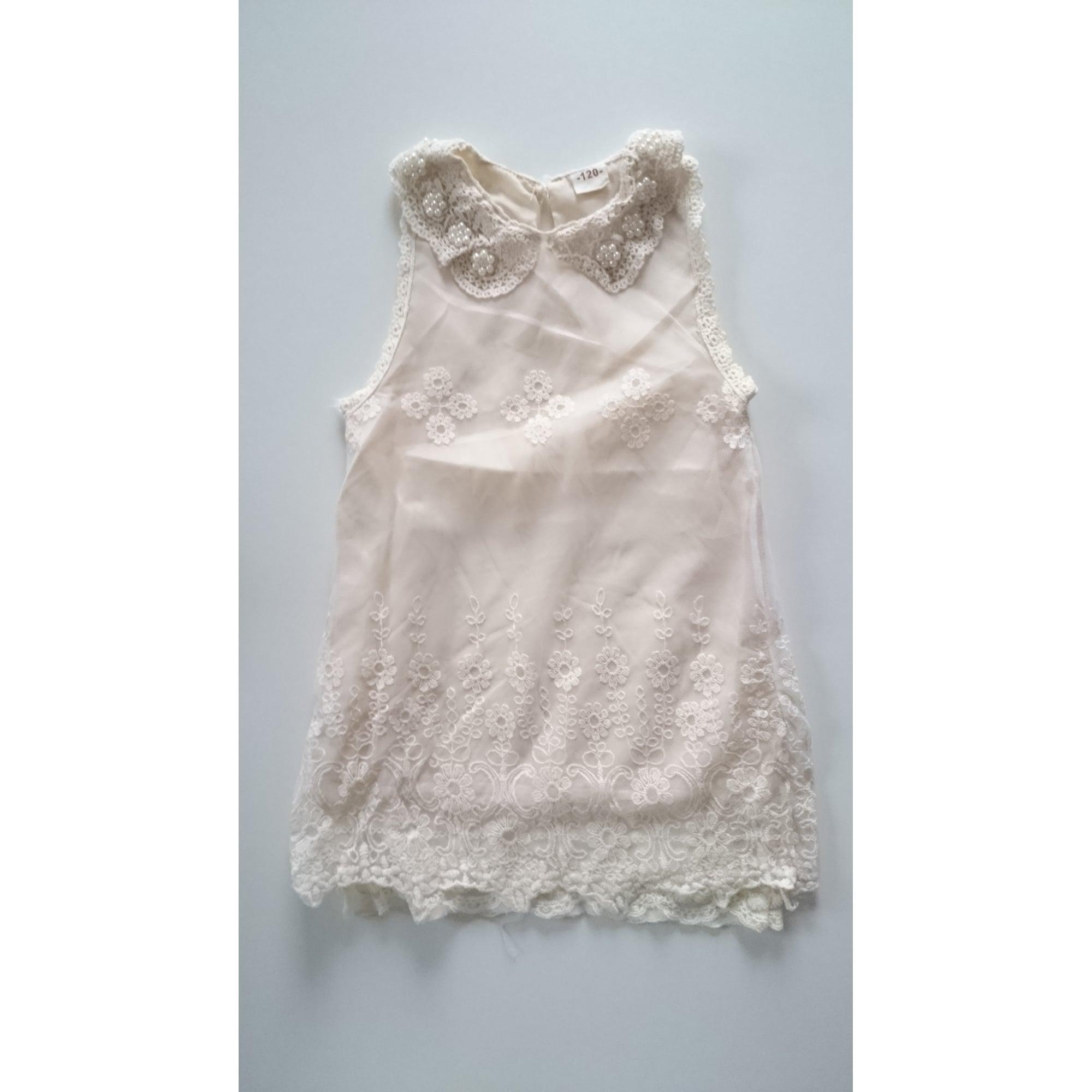 Robe MARQUE INCONNUE Blanc, blanc cassé, écru