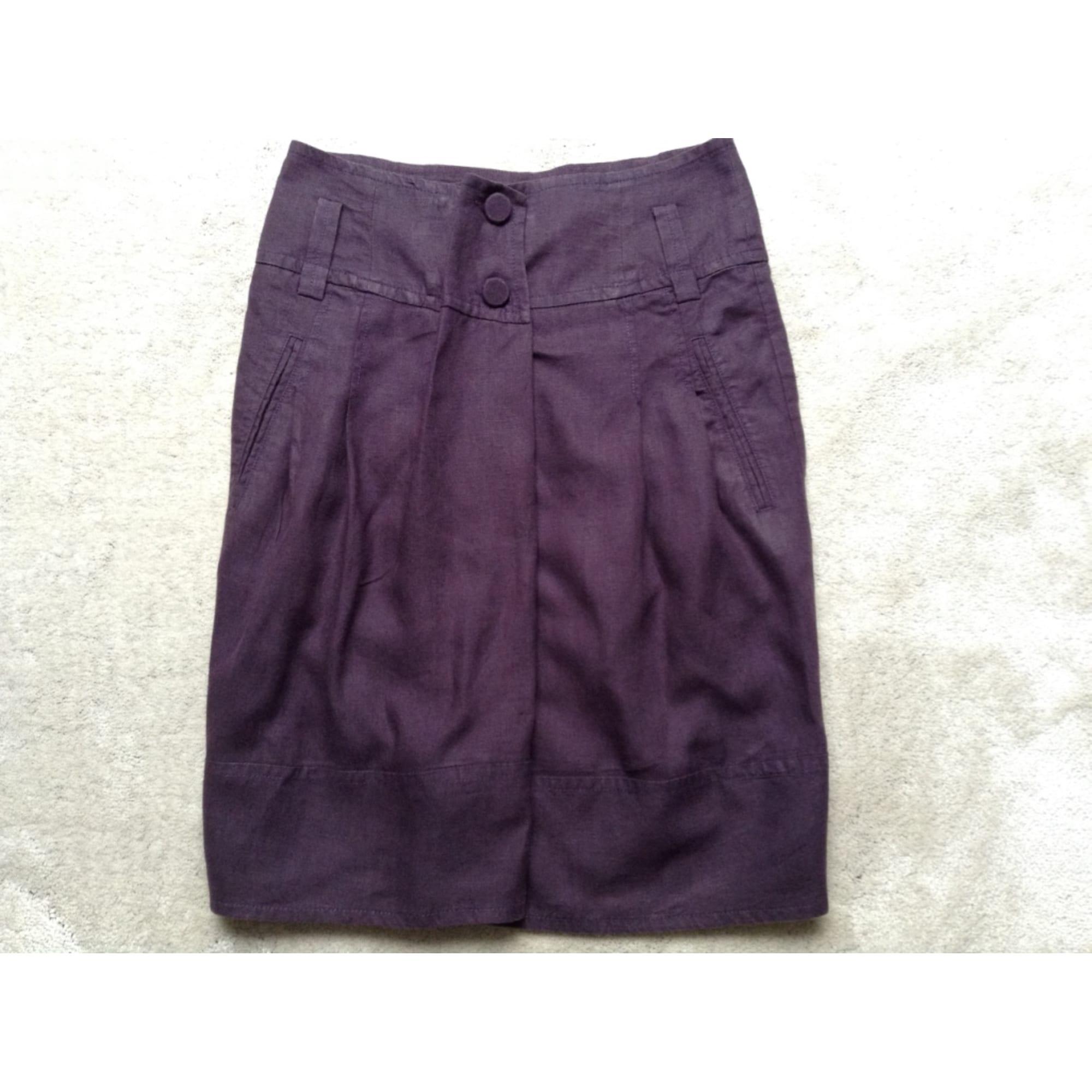 Jupe courte COMPTOIR DES COTONNIERS Violet, mauve, lavande
