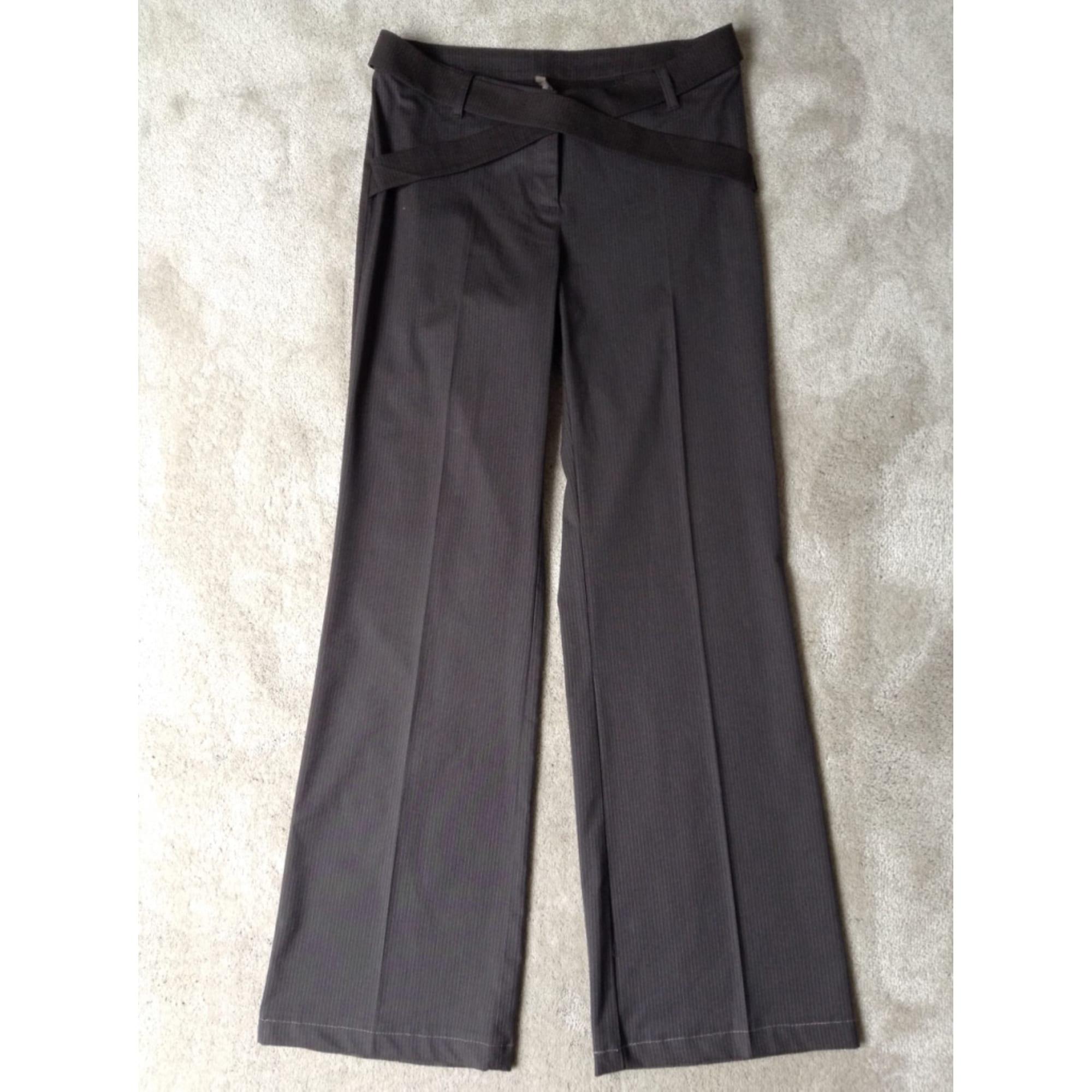 Pantalon droit COP-COPINE Marron