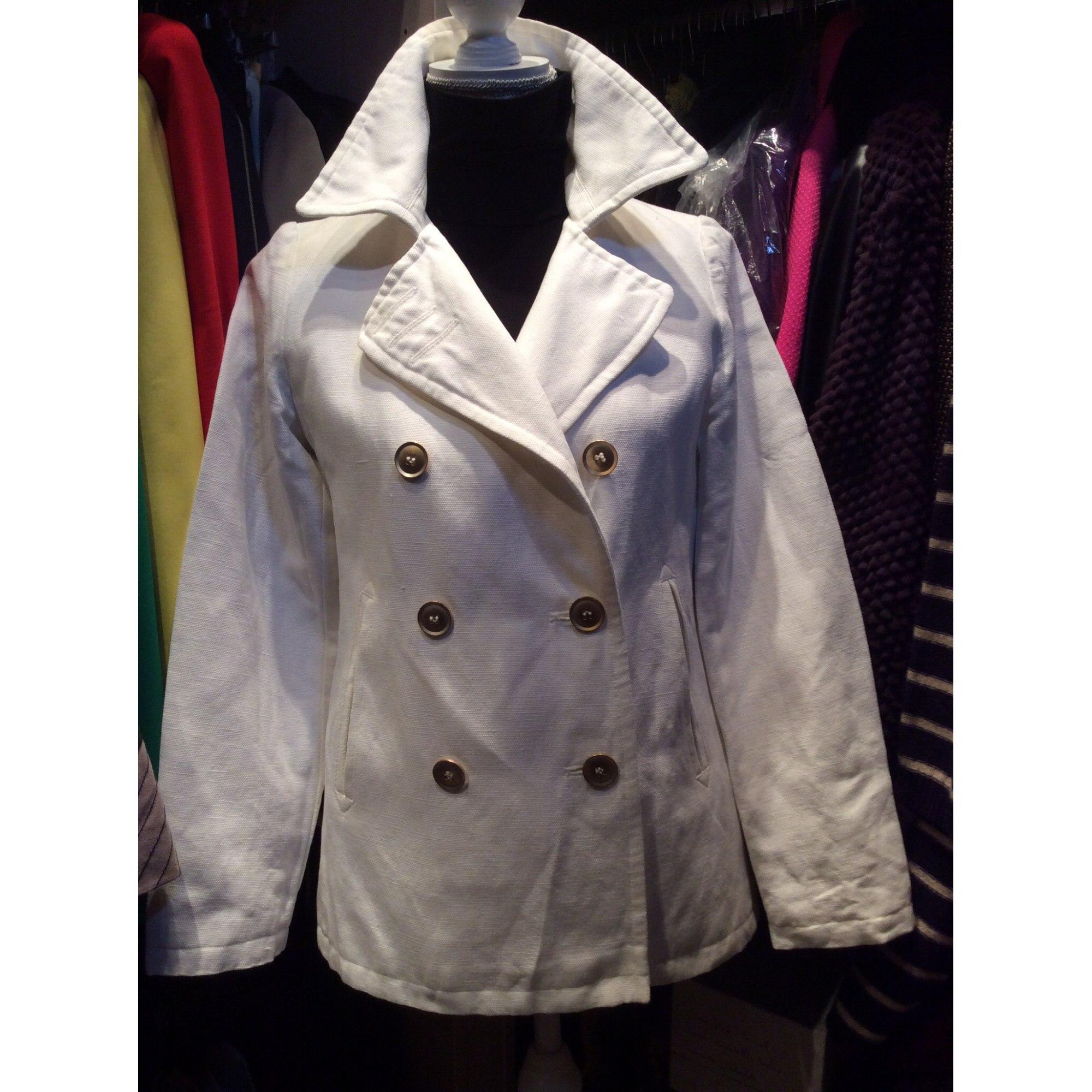 Manteau 1.2.3 Blanc, blanc cassé, écru